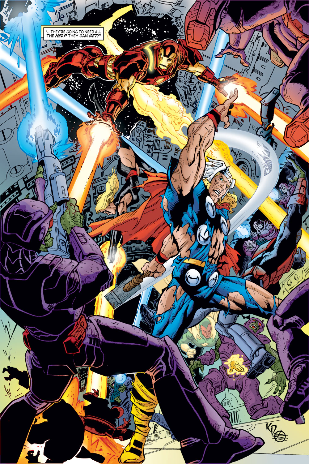 Read online Avengers (1998) comic -  Issue #53 - 15