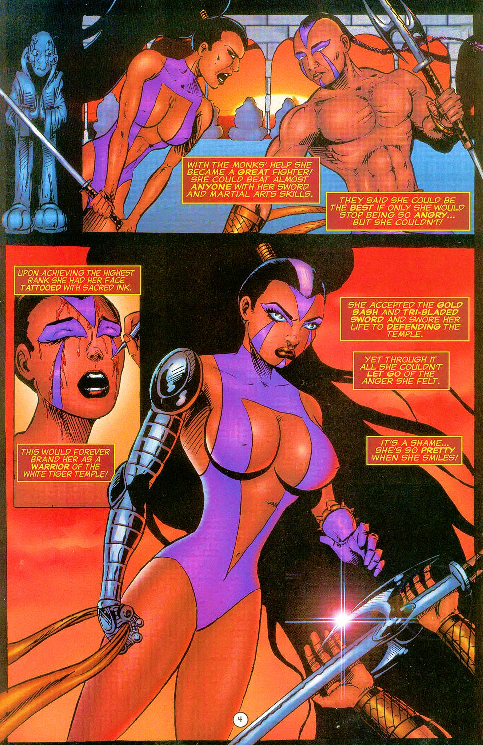 Read online Sisters of Mercy comic -  Issue #0 - 5