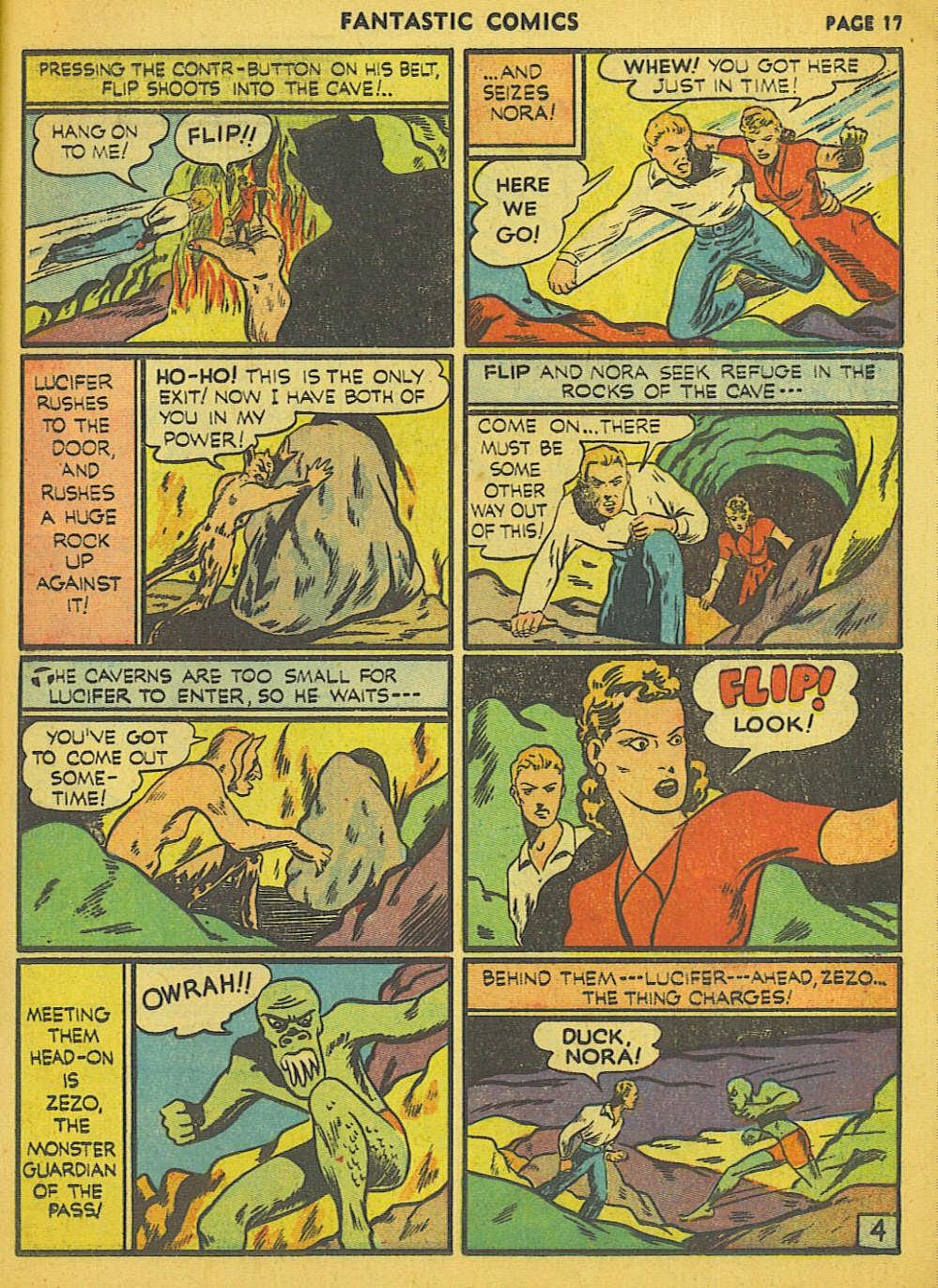 Read online Fantastic Comics comic -  Issue #15 - 10