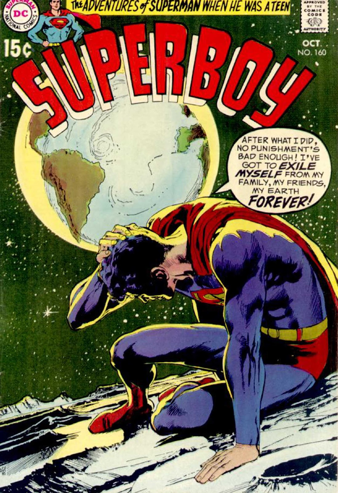 Superboy (1949) issue 160 - Page 1