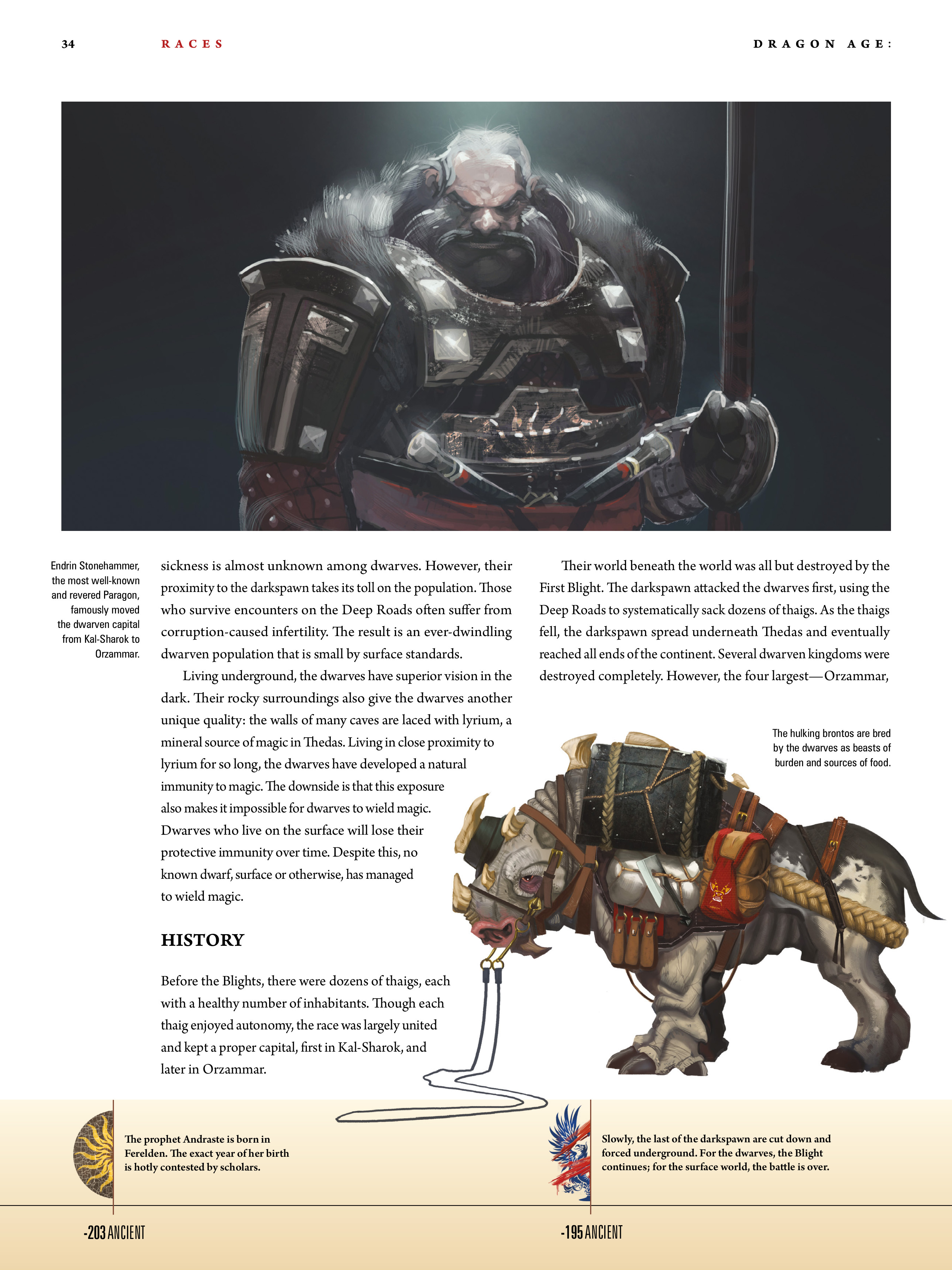 Read online Dragon Age: The World of Thedas comic -  Issue # TPB 1 - 27