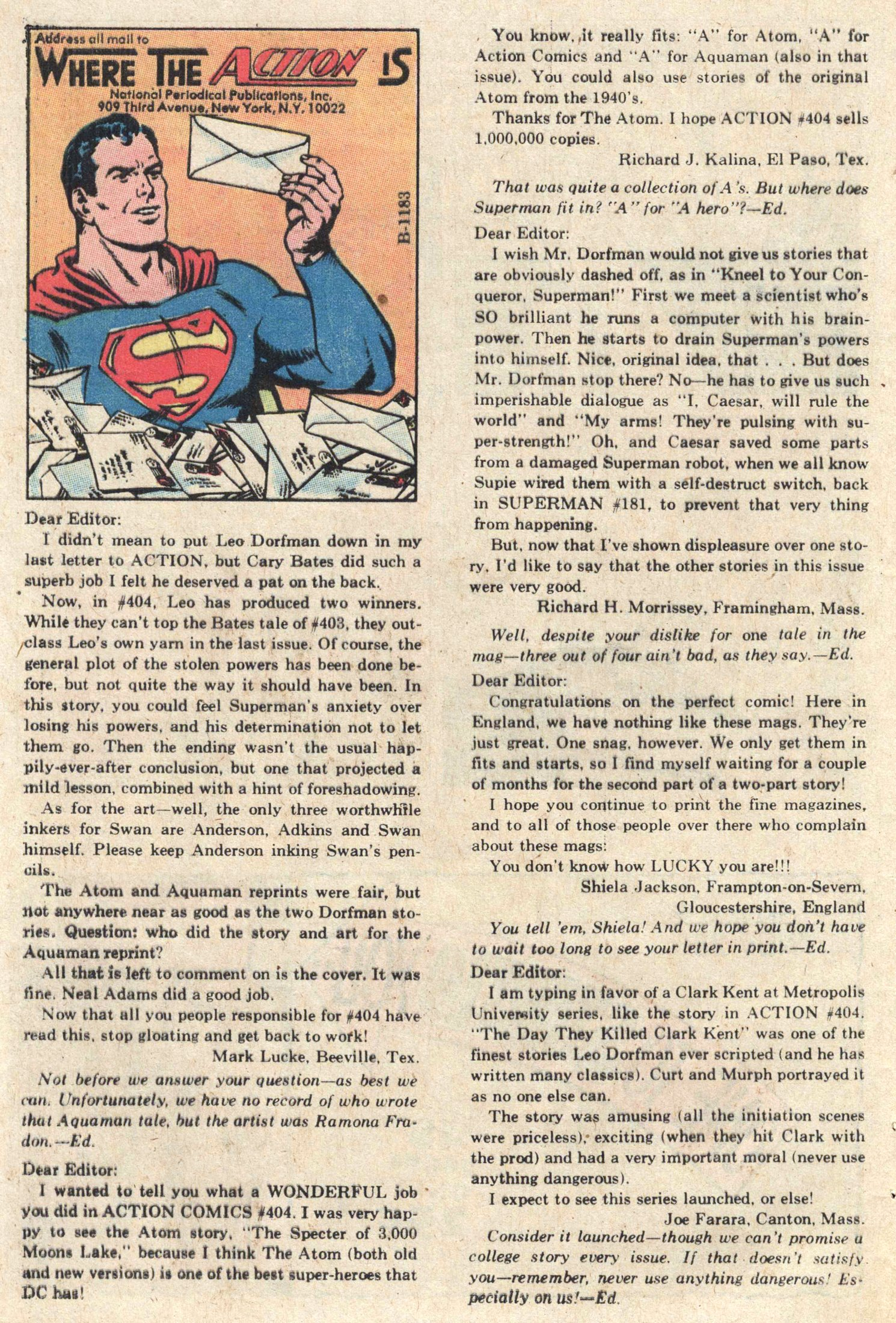 Action Comics (1938) 408 Page 38