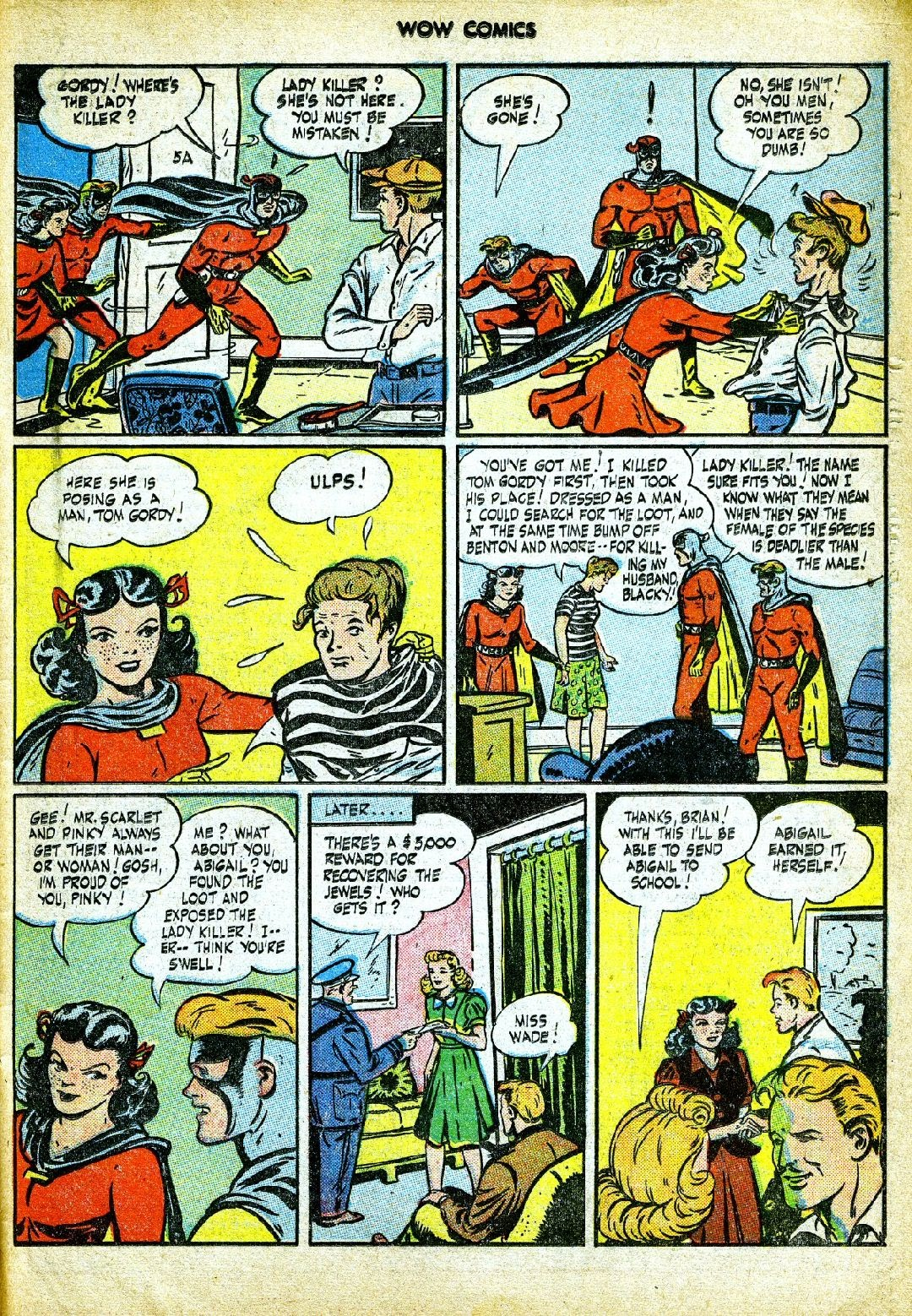 Wow Comics issue 57 - Page 35