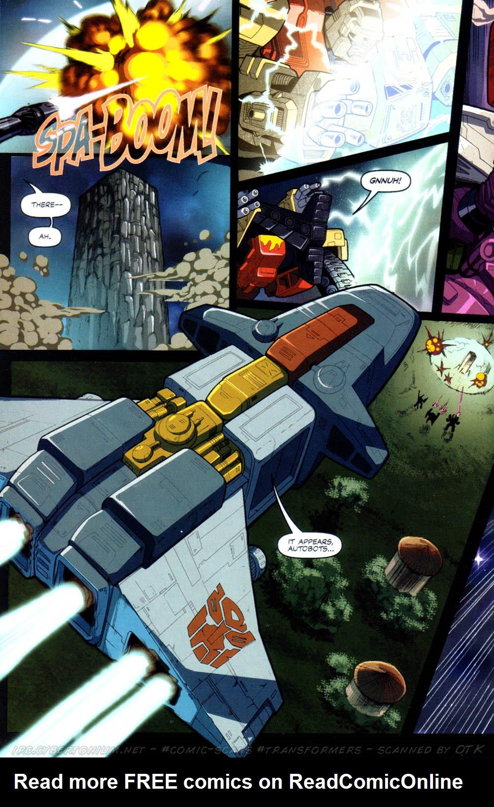 Read online Transformers Armada comic -  Issue #8 - 19