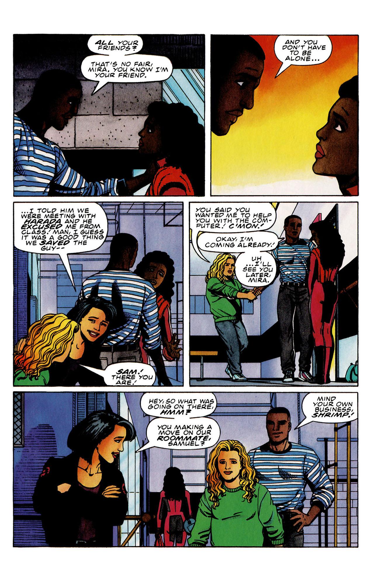 Read online Harbinger (1992) comic -  Issue #31 - 13