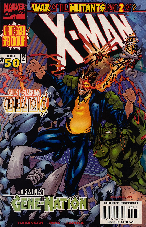 X-Man 50 Page 1