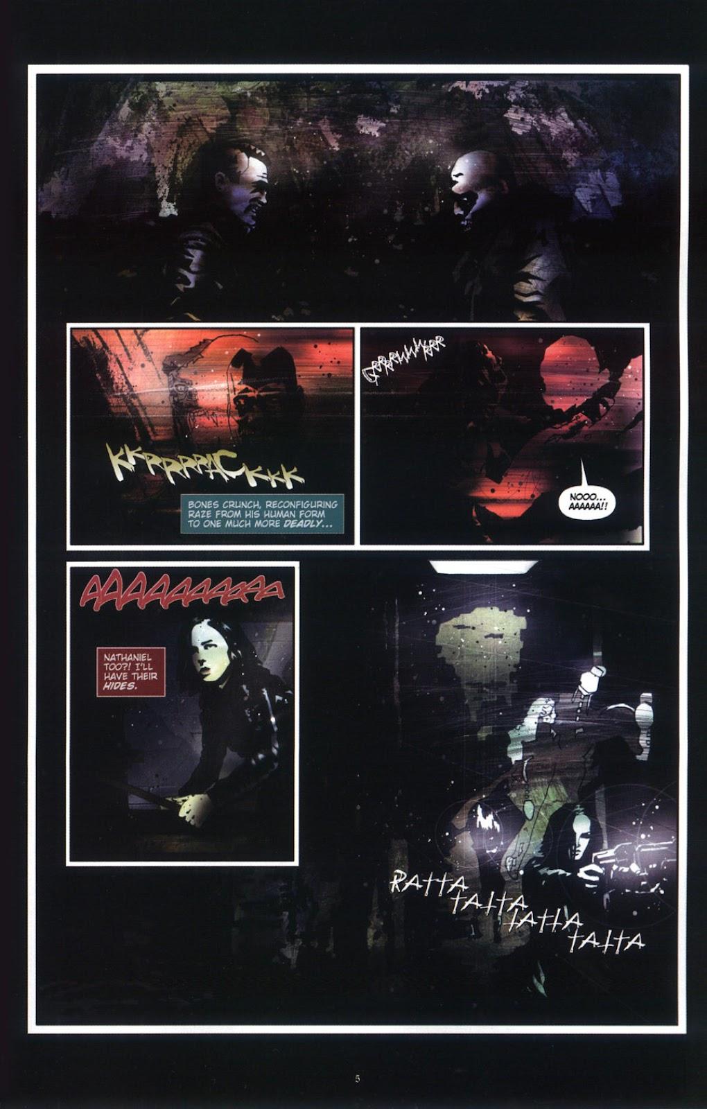 Read online Underworld (2003) comic -  Issue # Full - 7