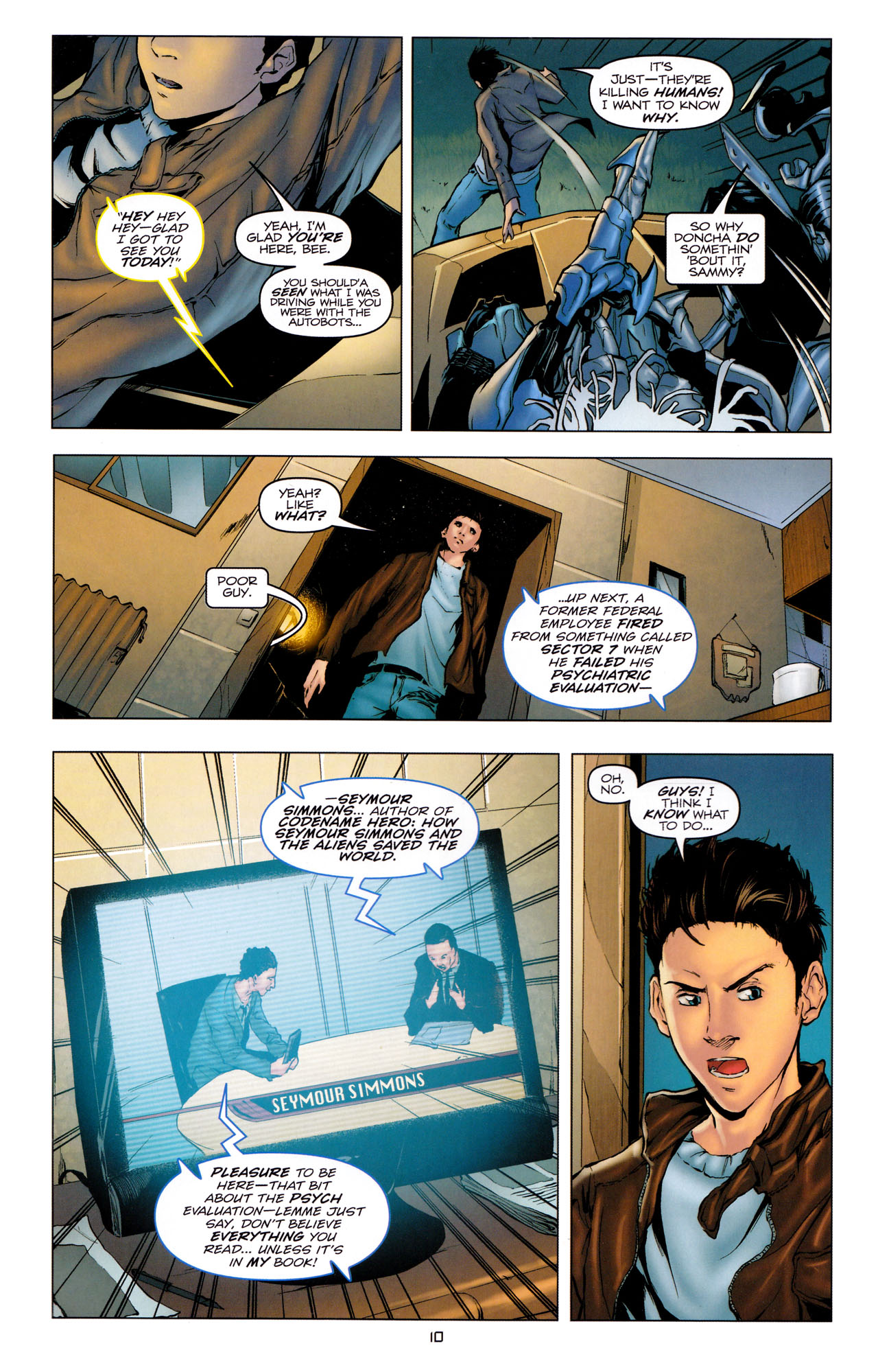Read online Transformers: Dark of the Moon Movie Adaptation comic -  Issue #2 - 12