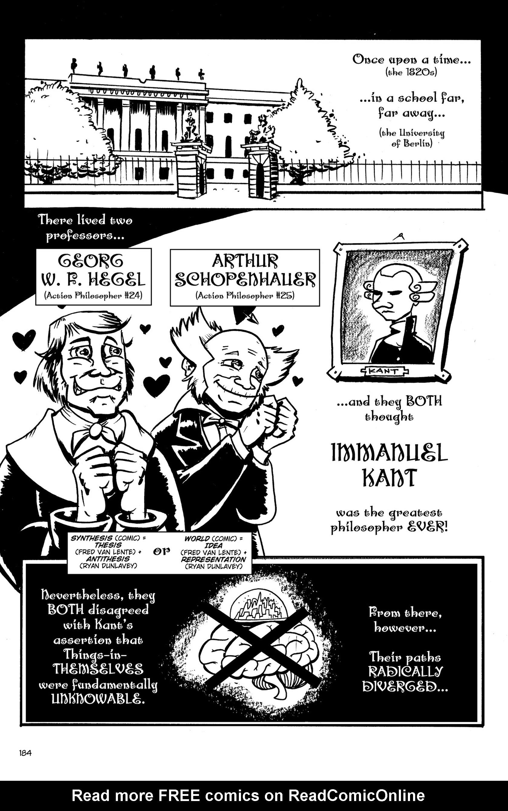Read online Action Philosophers! comic -  Issue #Action Philosophers! TPB (Part 2) - 12