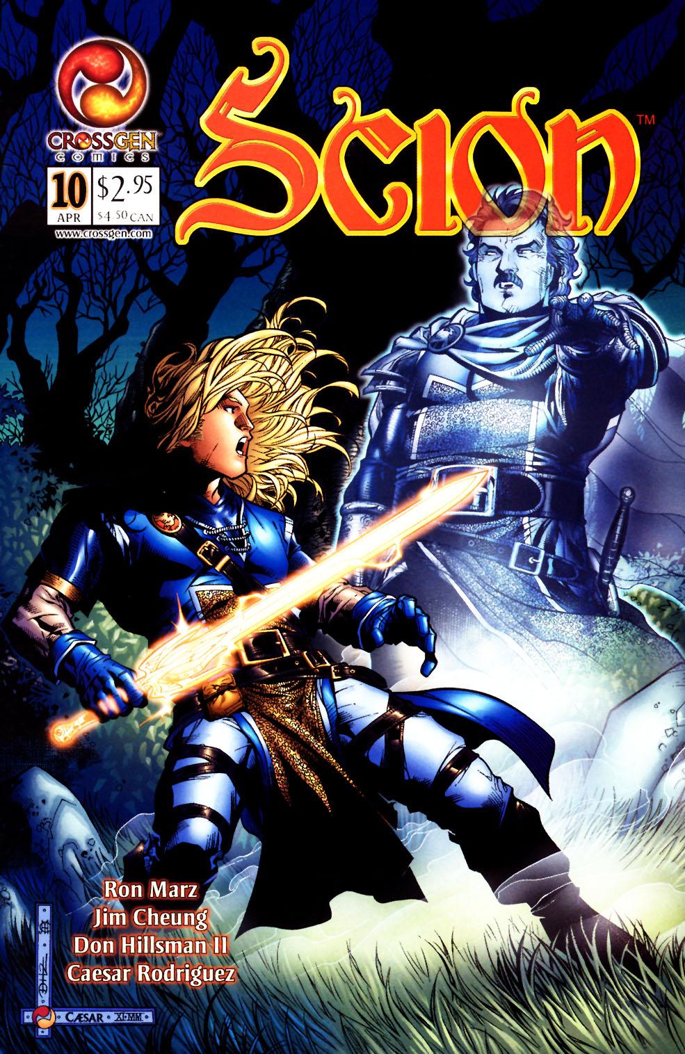 Read online Scion comic -  Issue #10 - 1