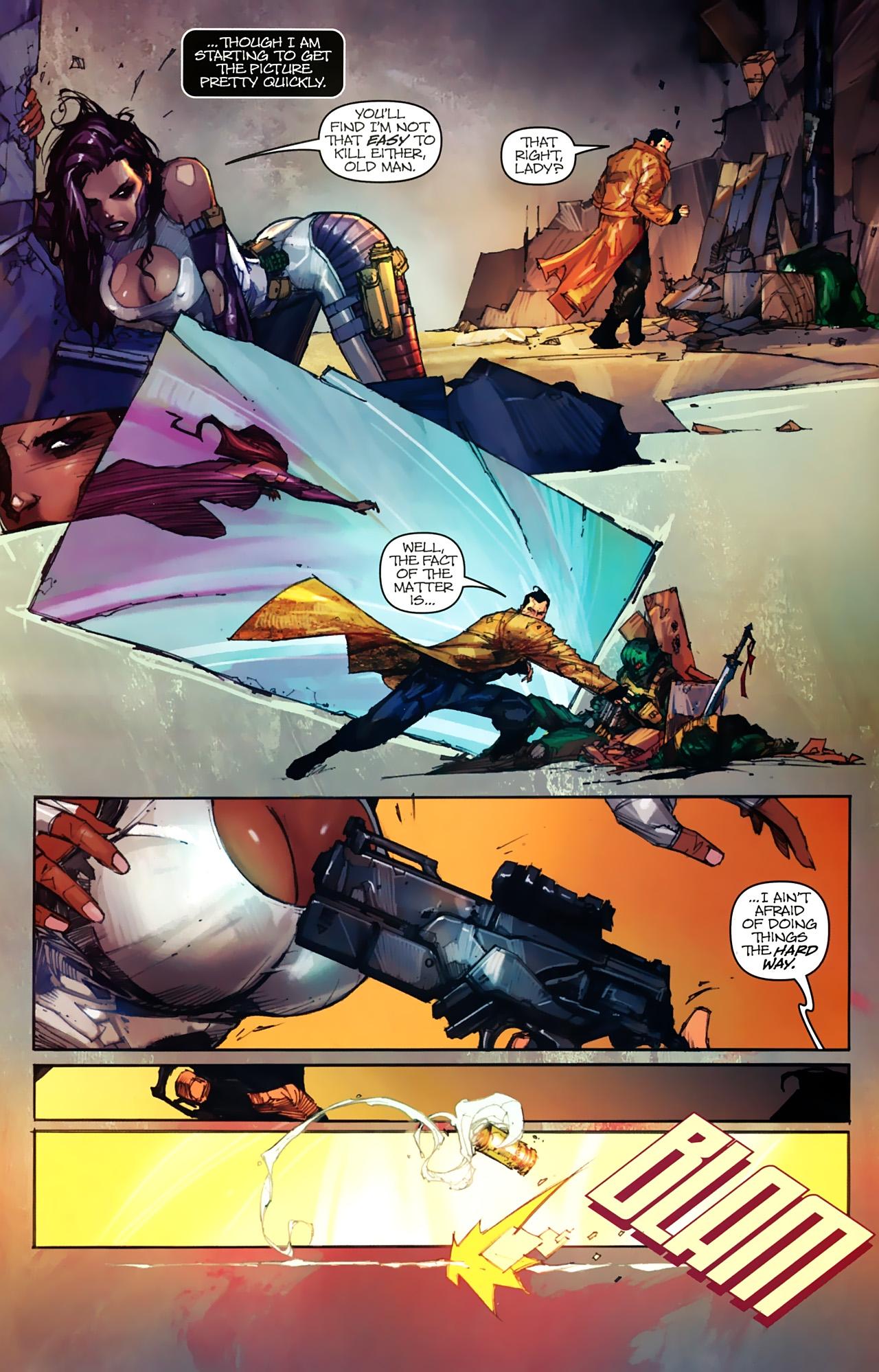 Read online Astonishing Tales (2009) comic -  Issue #2 - 8
