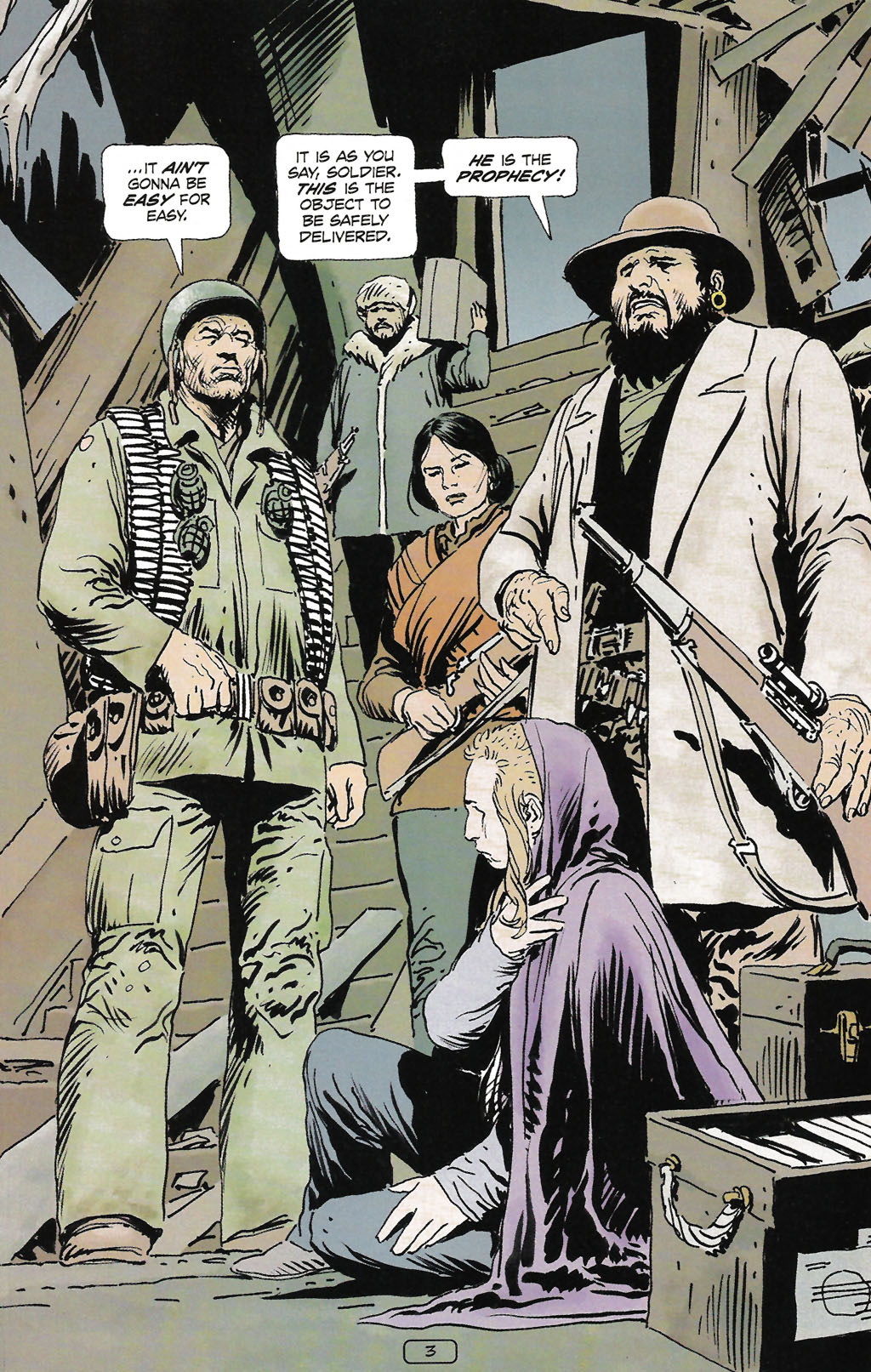 Read online Sgt. Rock: The Prophecy comic -  Issue #2 - 4