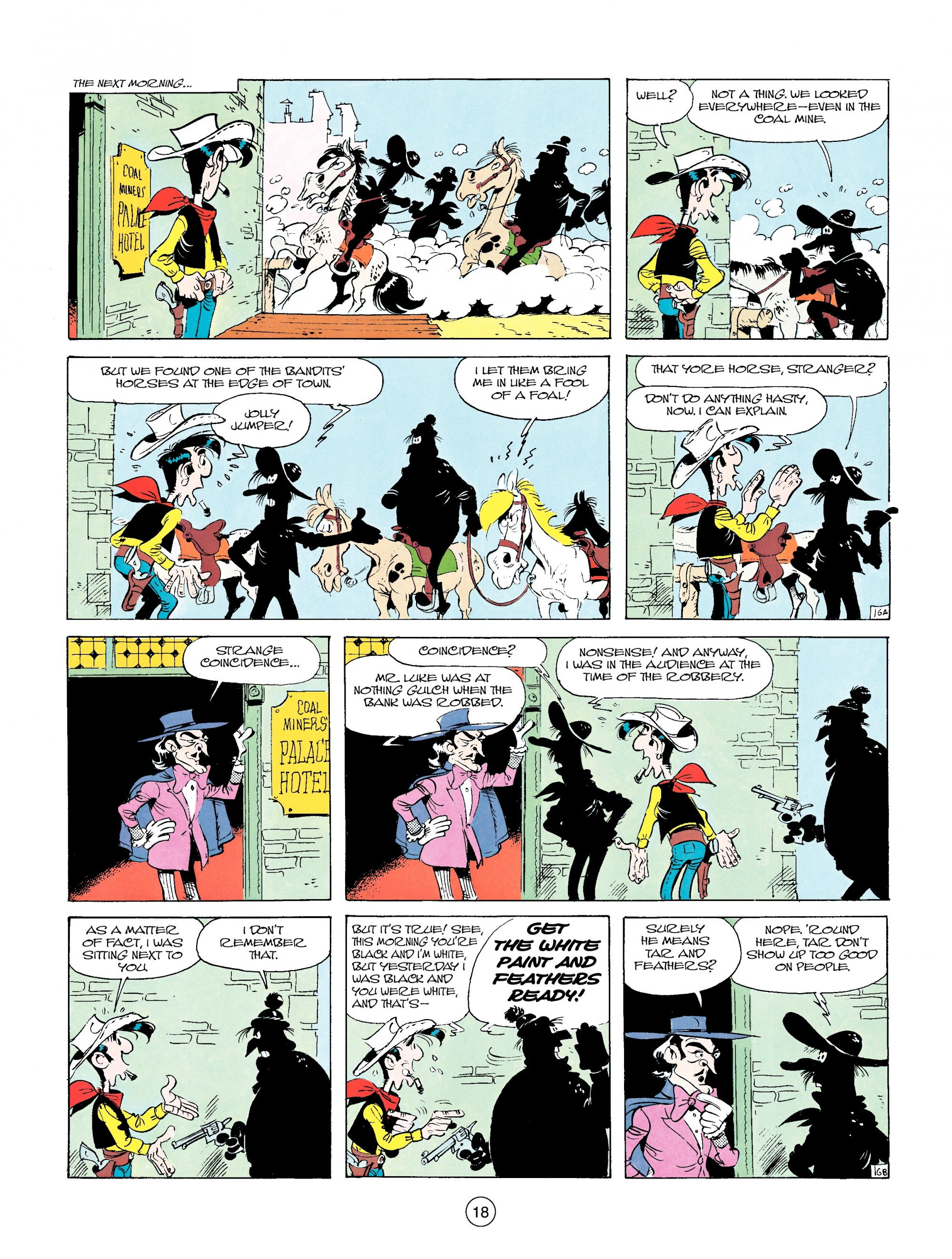 Read online A Lucky Luke Adventure comic -  Issue #14 - 18