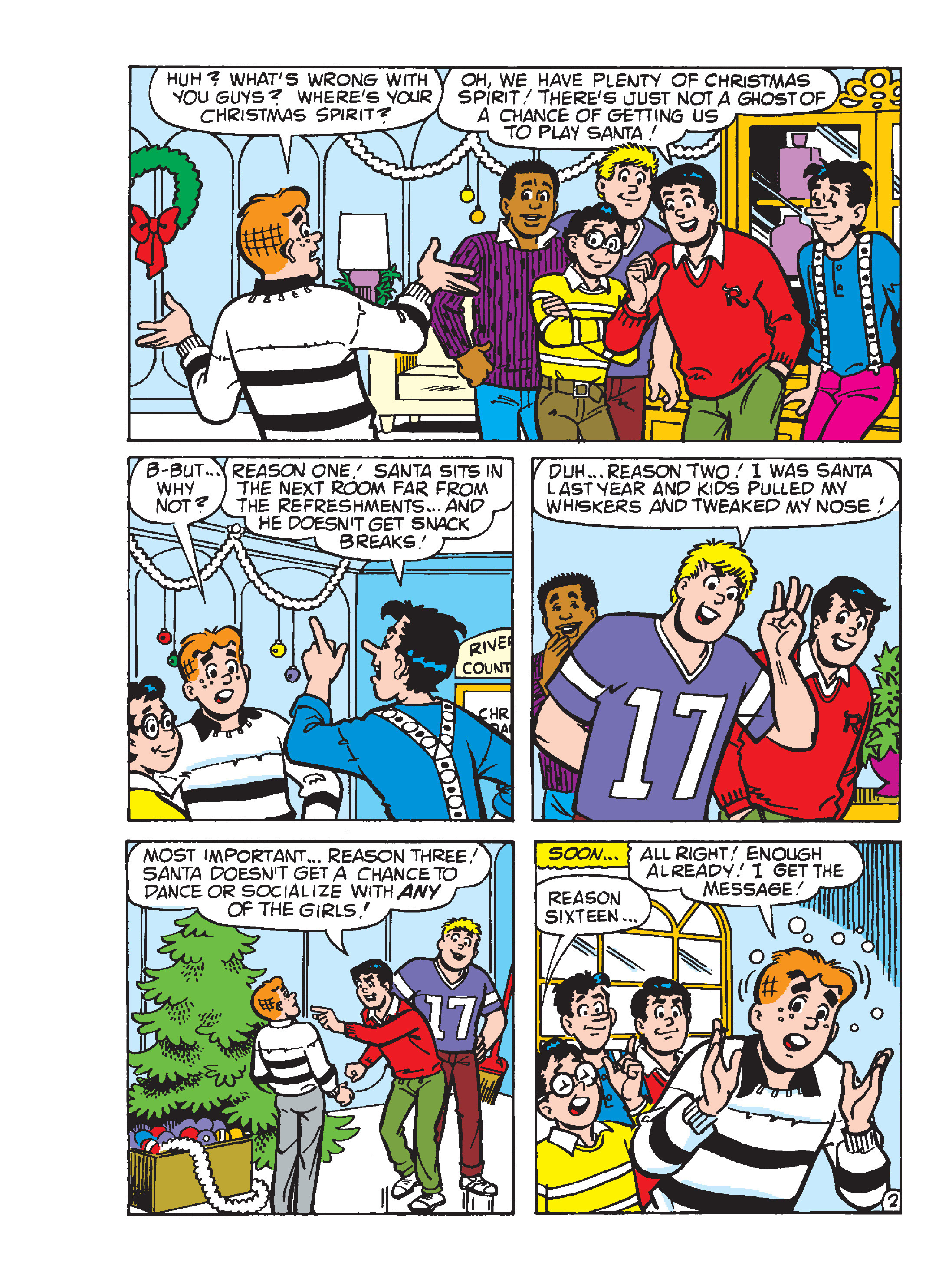 Read online Archie's Funhouse Double Digest comic -  Issue #23 - 153