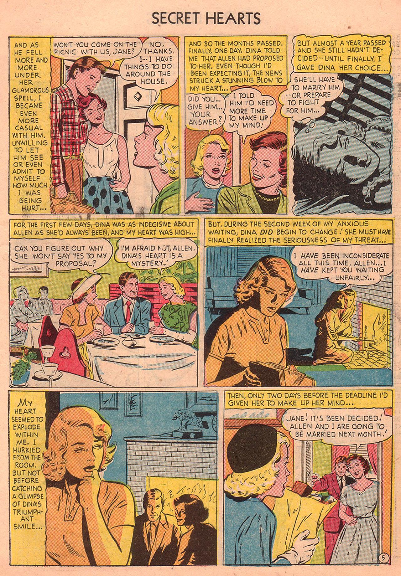 Read online Secret Hearts comic -  Issue #23 - 7