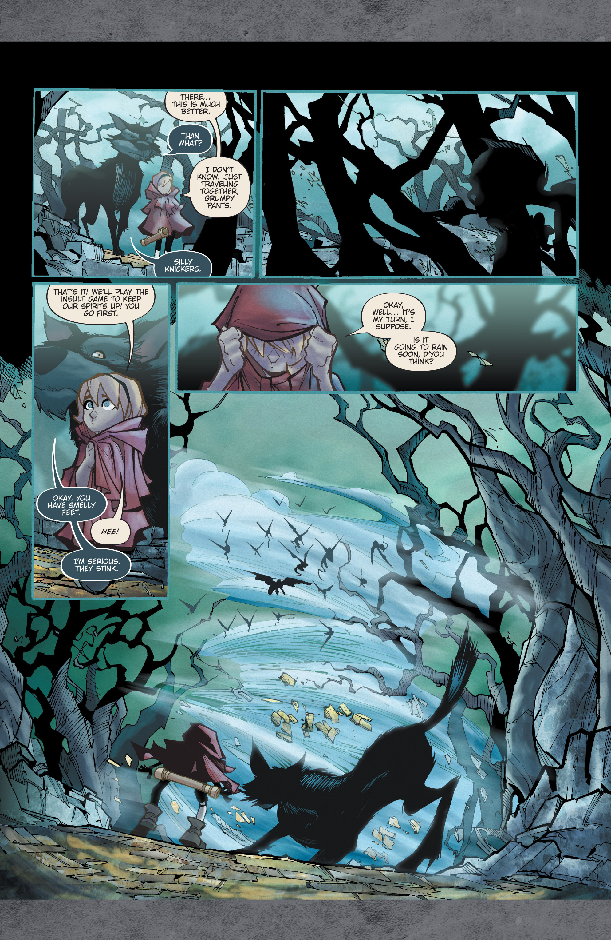Read online Fairy Quest: Outcasts comic -  Issue #2 - 21