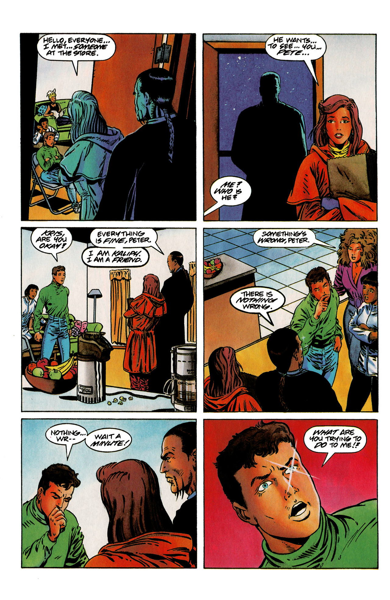 Read online Harbinger (1992) comic -  Issue #19 - 17