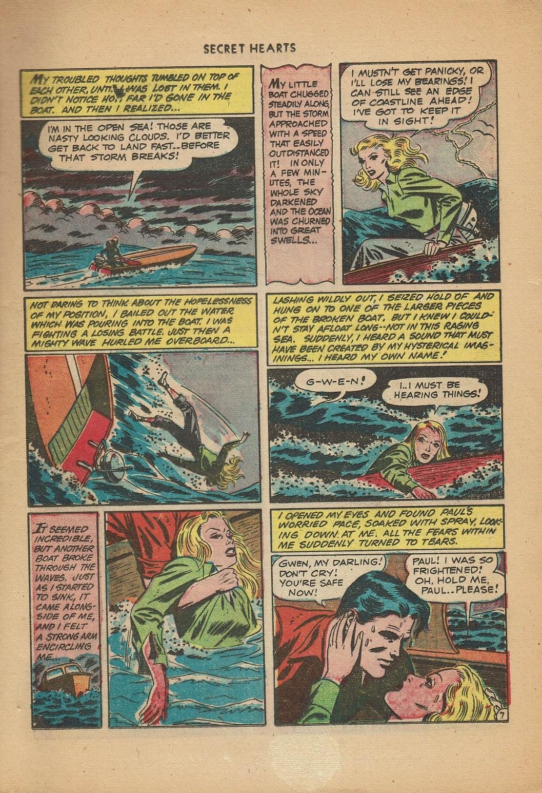 Read online Secret Hearts comic -  Issue #2 - 9