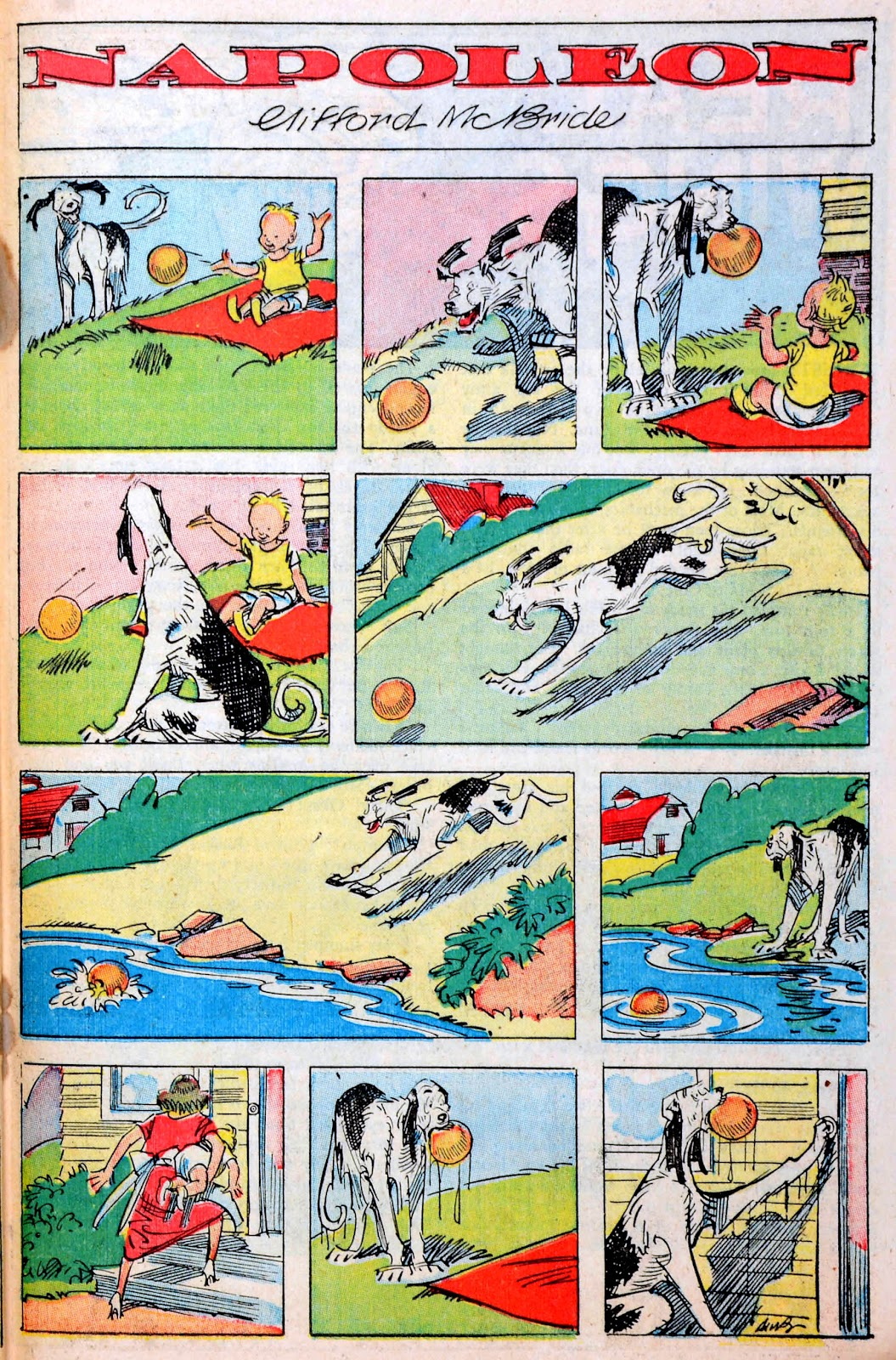 Read online Famous Funnies comic -  Issue #194 - 37