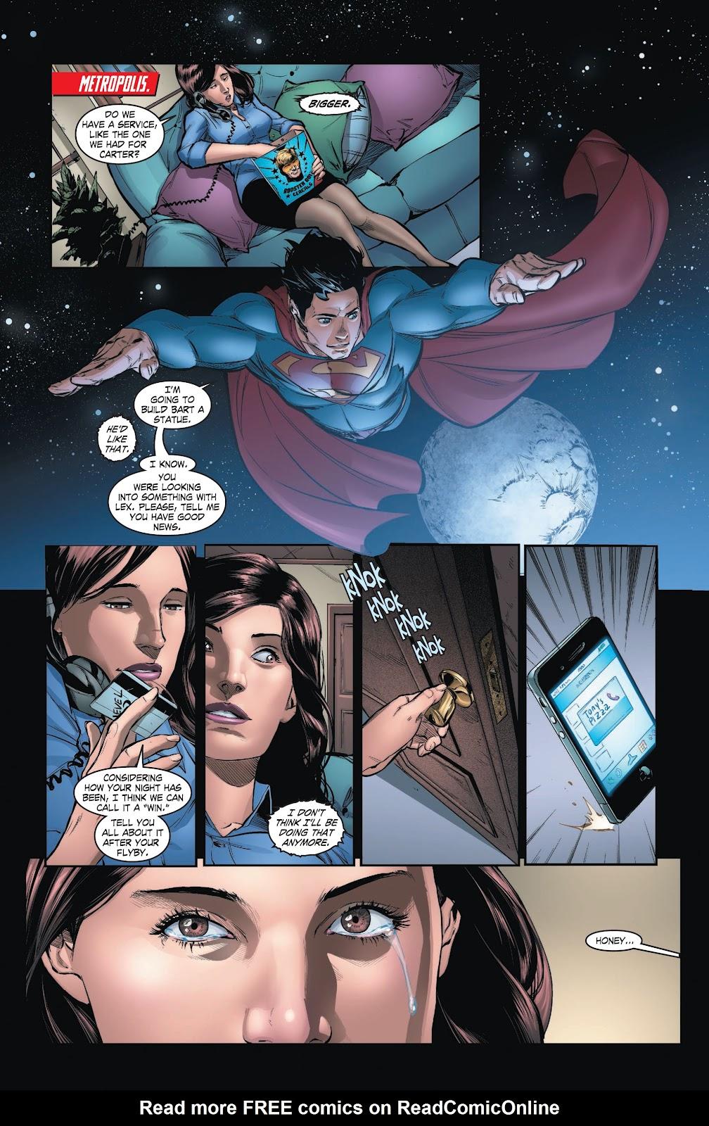 Read online Smallville Season 11 [II] comic -  Issue # TPB 3 - 123