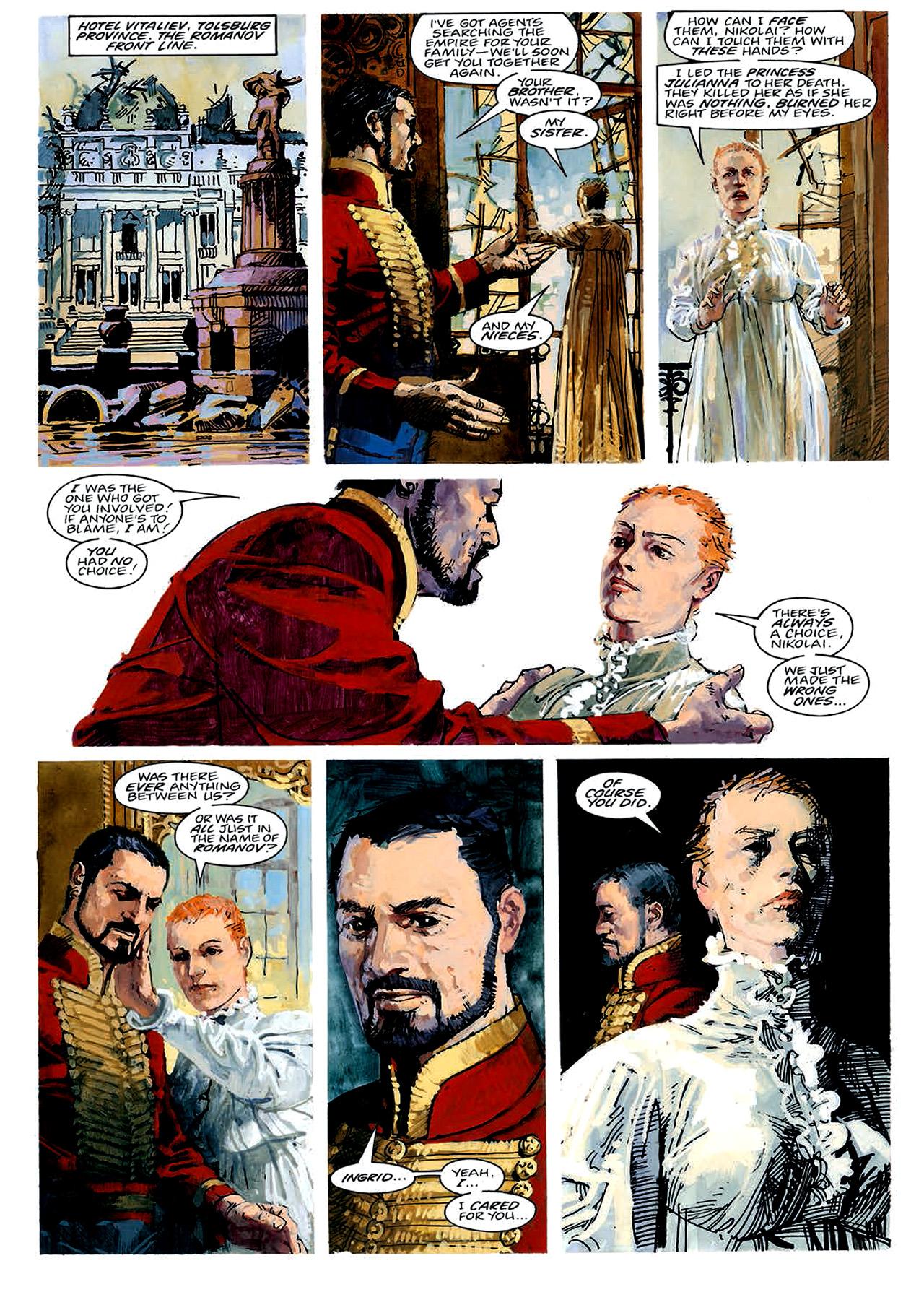 Read online Nikolai Dante comic -  Issue # TPB 4 - 49