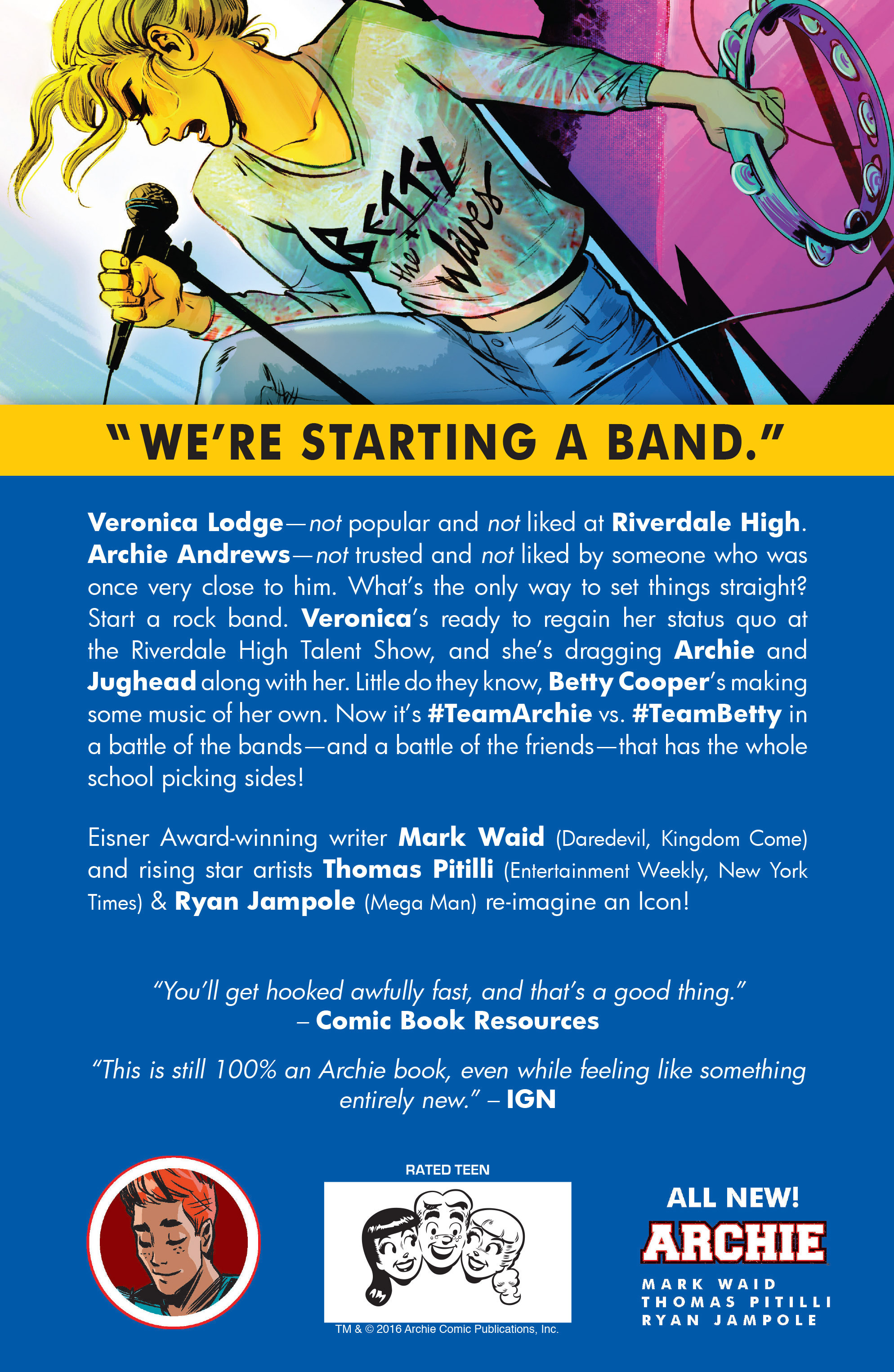 Read online Archie (2015) comic -  Issue #11 - 34