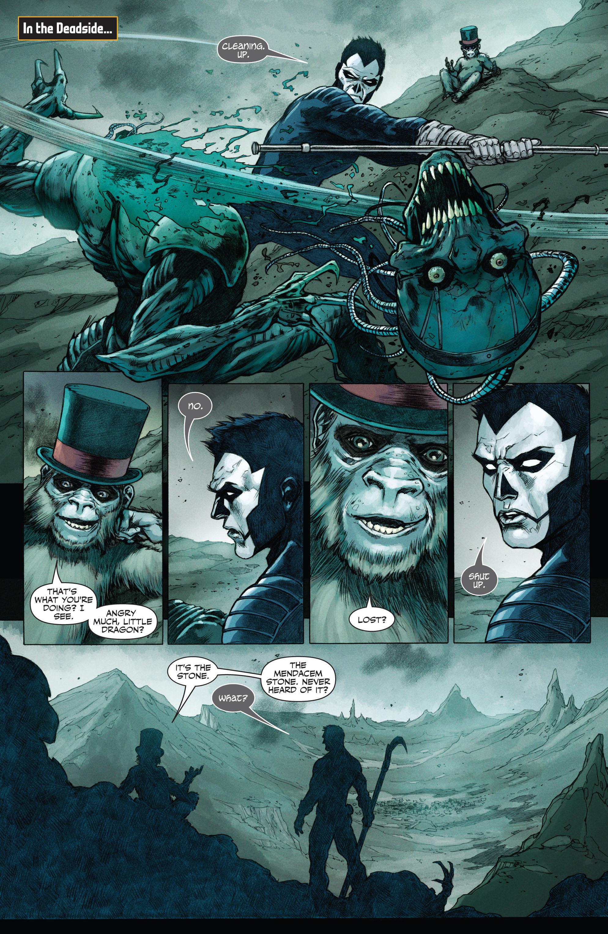 Read online Shadowman (2012) comic -  Issue #12 - 3