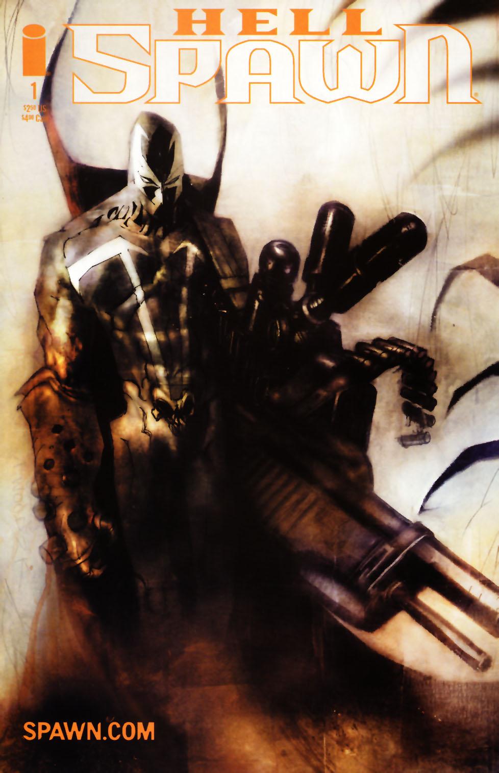Hellspawn issue 1 - Page 1