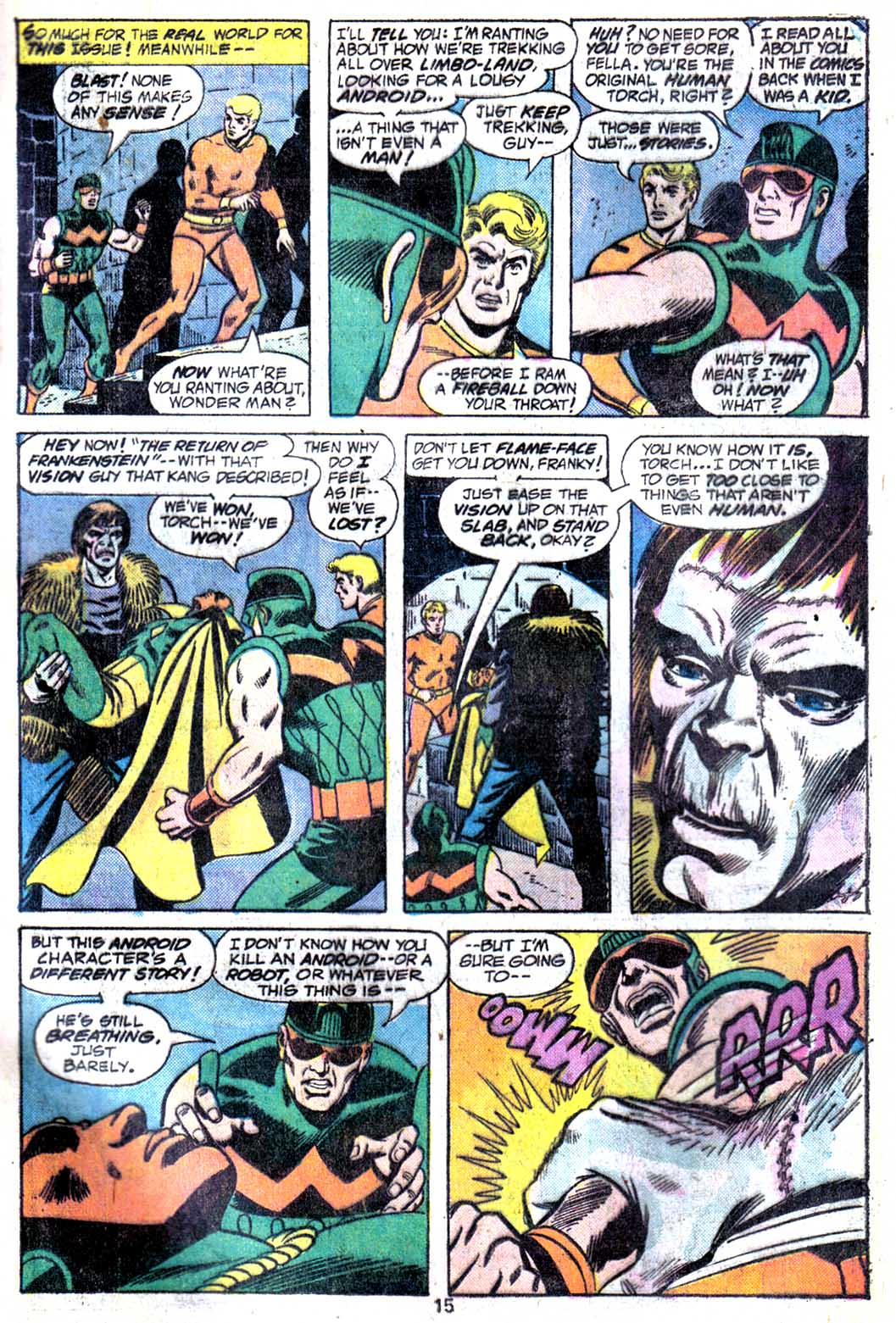 Giant-Size Avengers (1974) issue 3 - Page 17