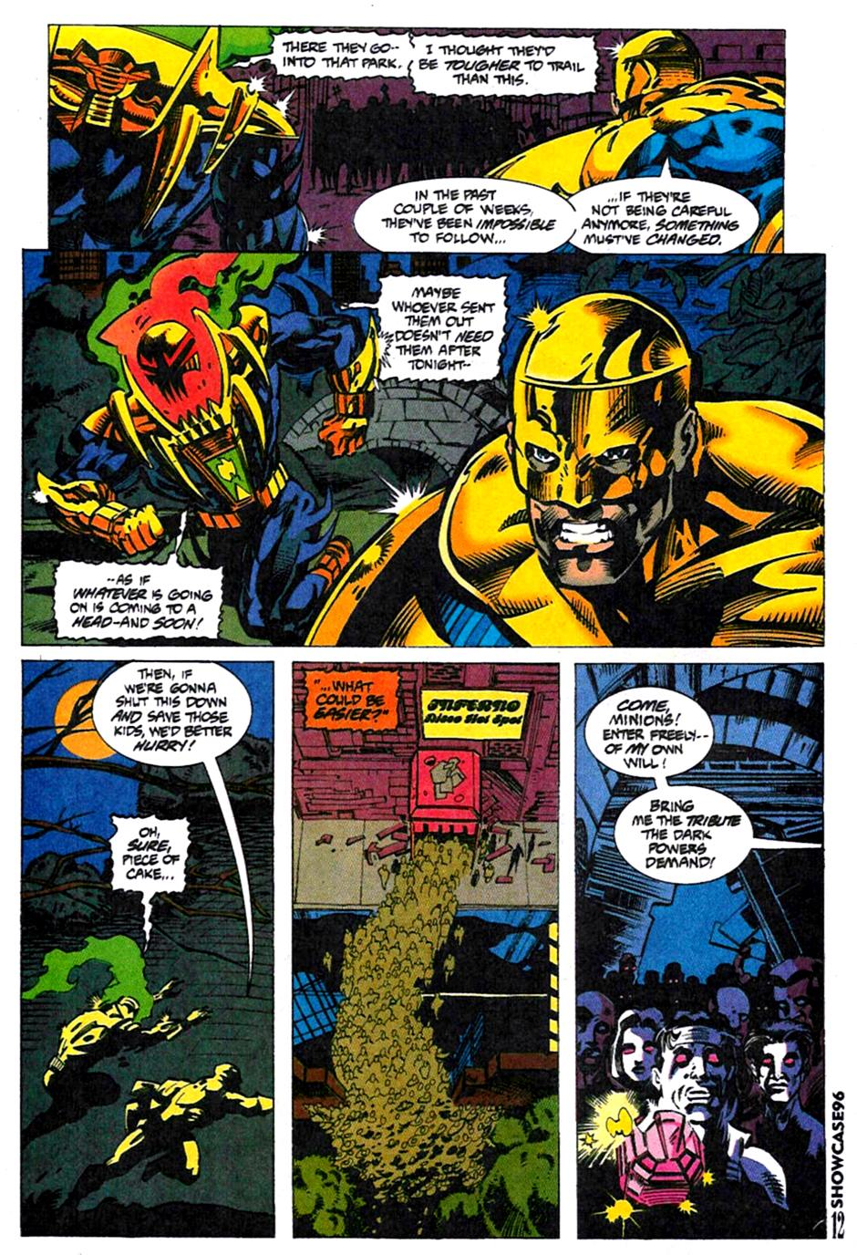 Read online Showcase '96 comic -  Issue #4 - 11