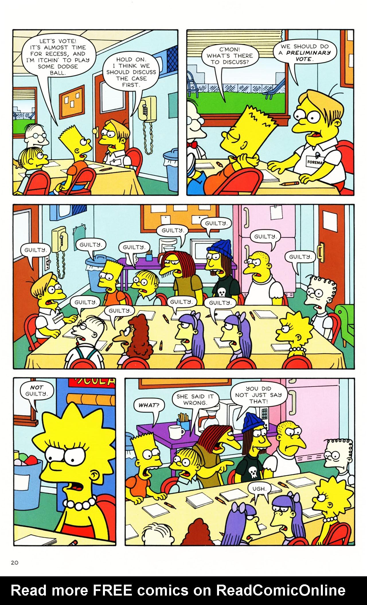 Read online Simpsons Comics Presents Bart Simpson comic -  Issue #49 - 18