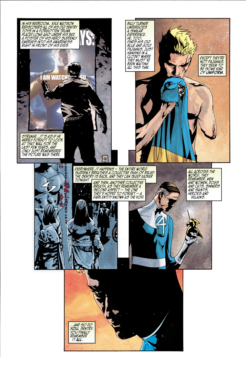 Read online Sentry (2000) comic -  Issue #5 - 7