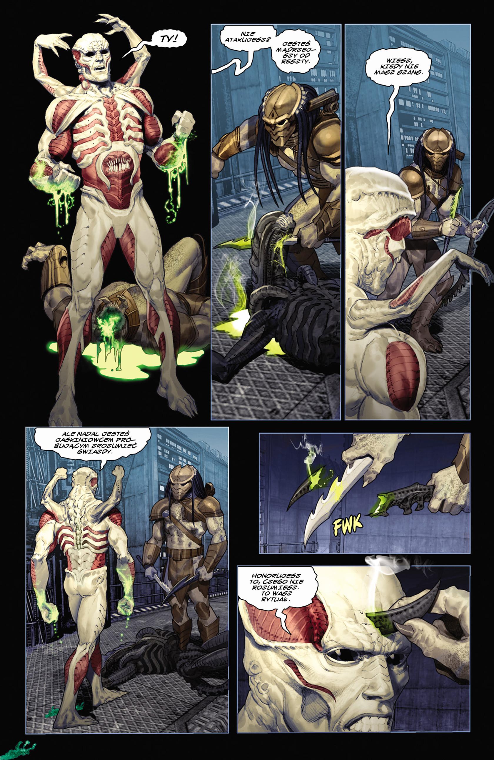 Read online Alien vs. Predator: Fire and Stone comic -  Issue #2 - 11