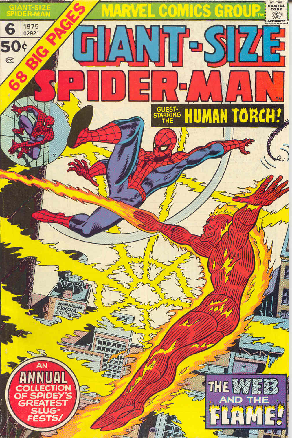 Giant-Size Spider-Man (1974) issue 6 - Page 1