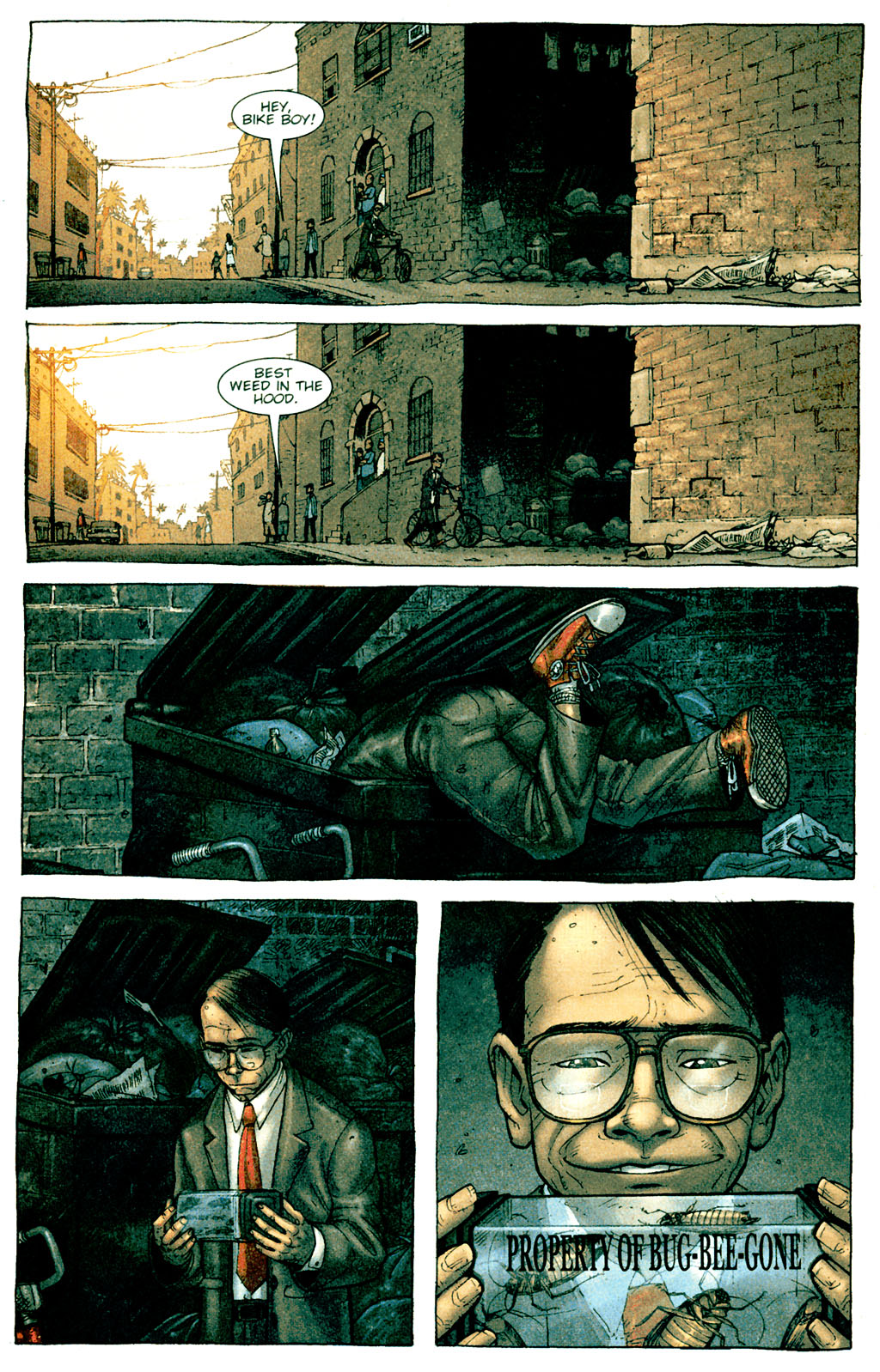 Read online The Exterminators comic -  Issue #1 - 6