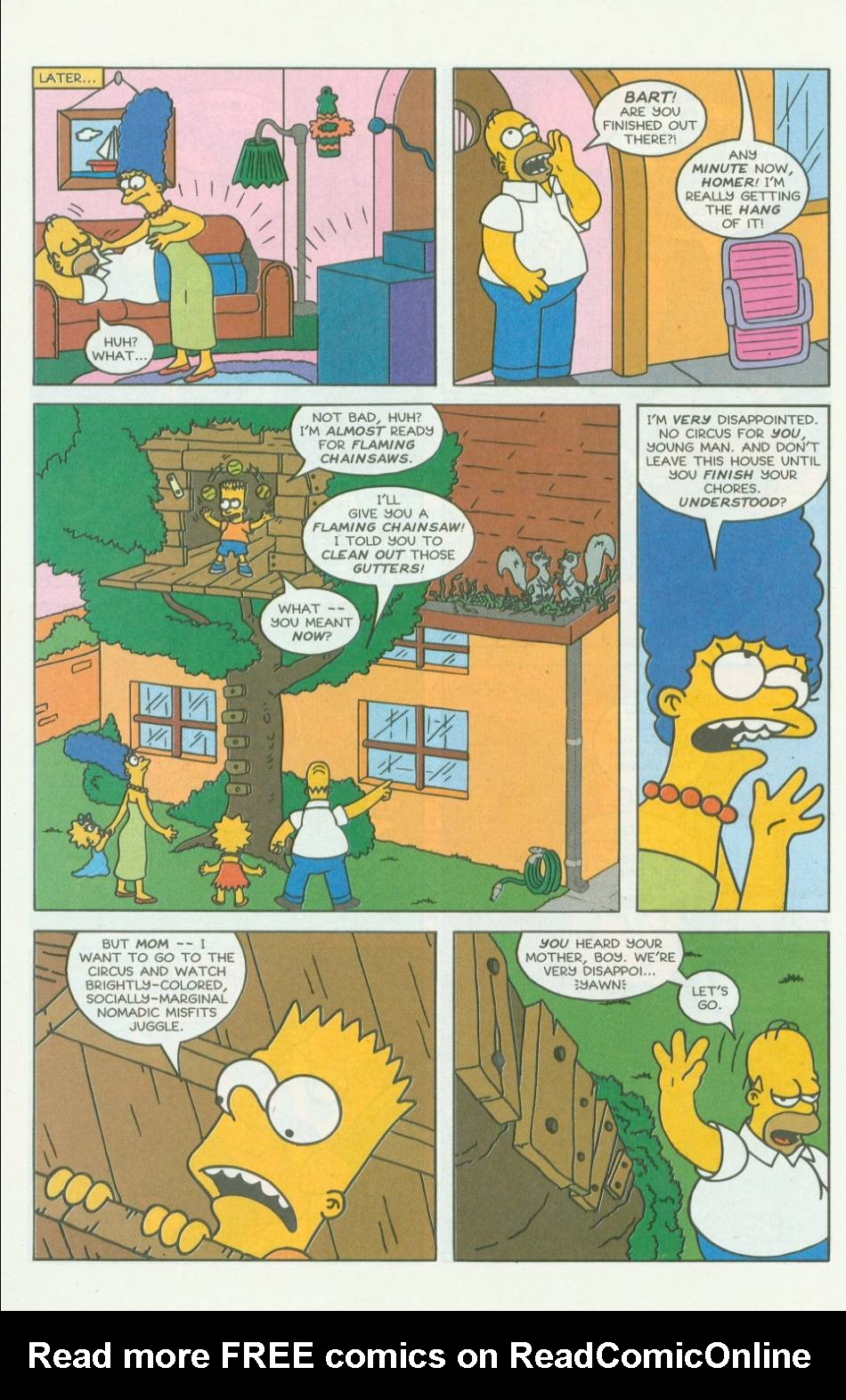 Read online Simpsons Comics comic -  Issue #7 - 5