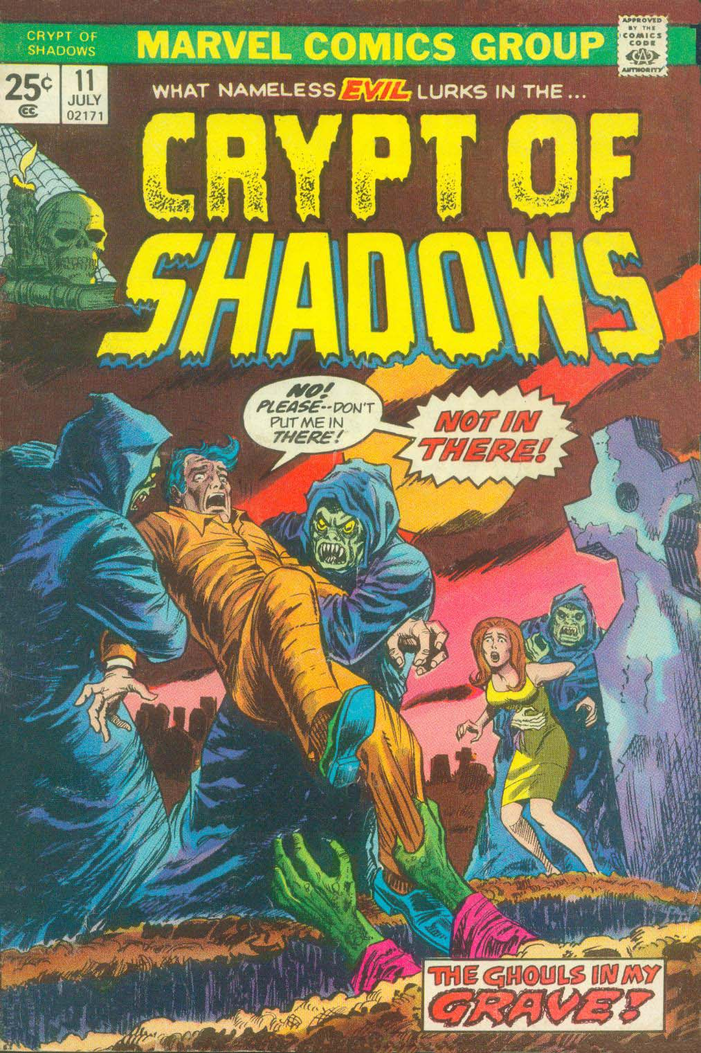 Crypt of Shadows (1973) issue 11 - Page 1