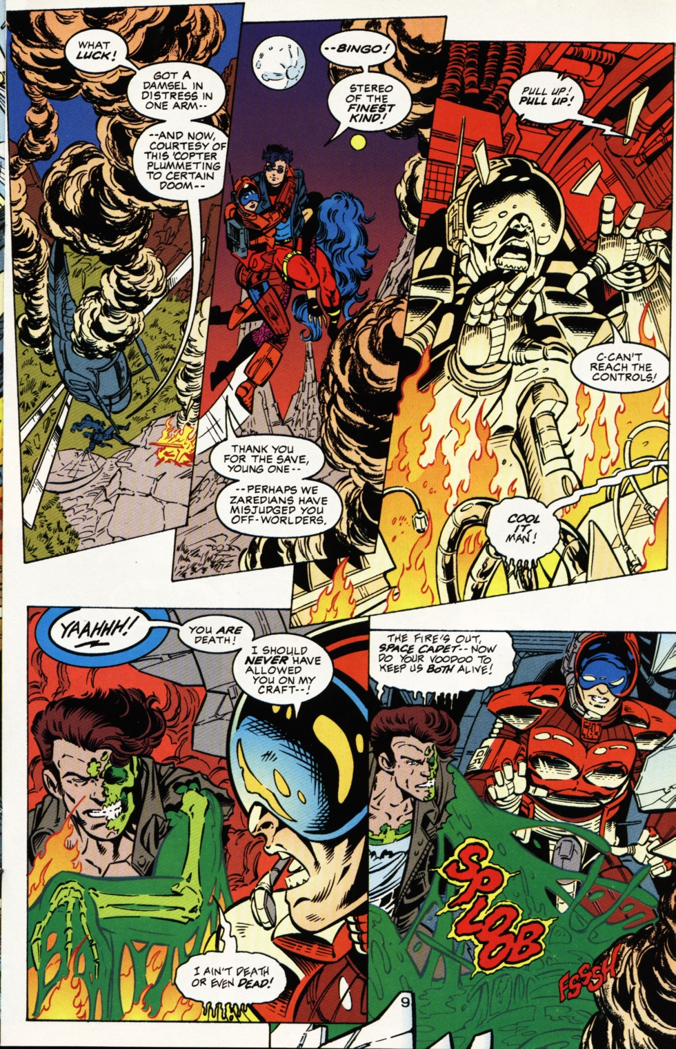 Read online Superboy & The Ravers comic -  Issue #4 - 10