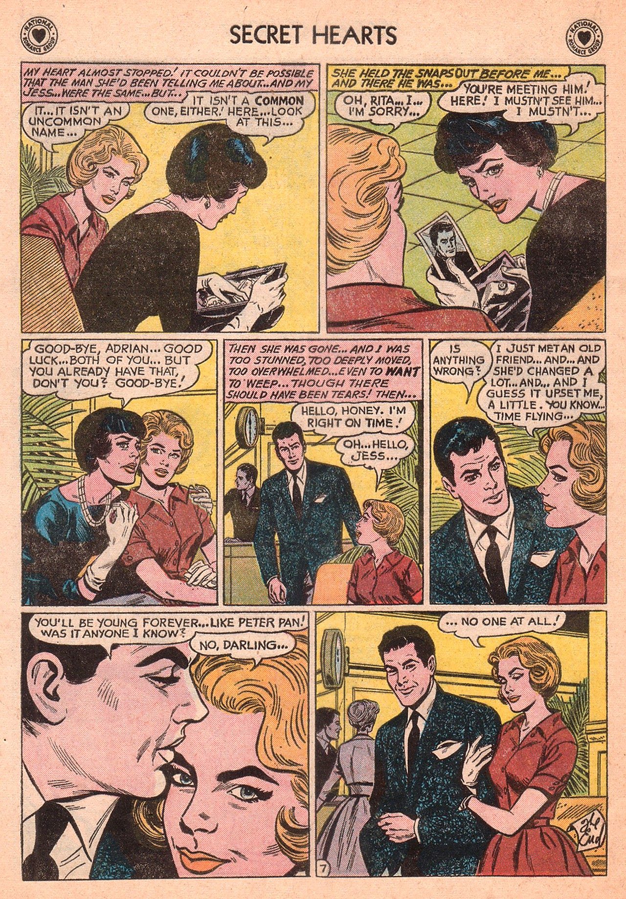 Read online Secret Hearts comic -  Issue #77 - 24