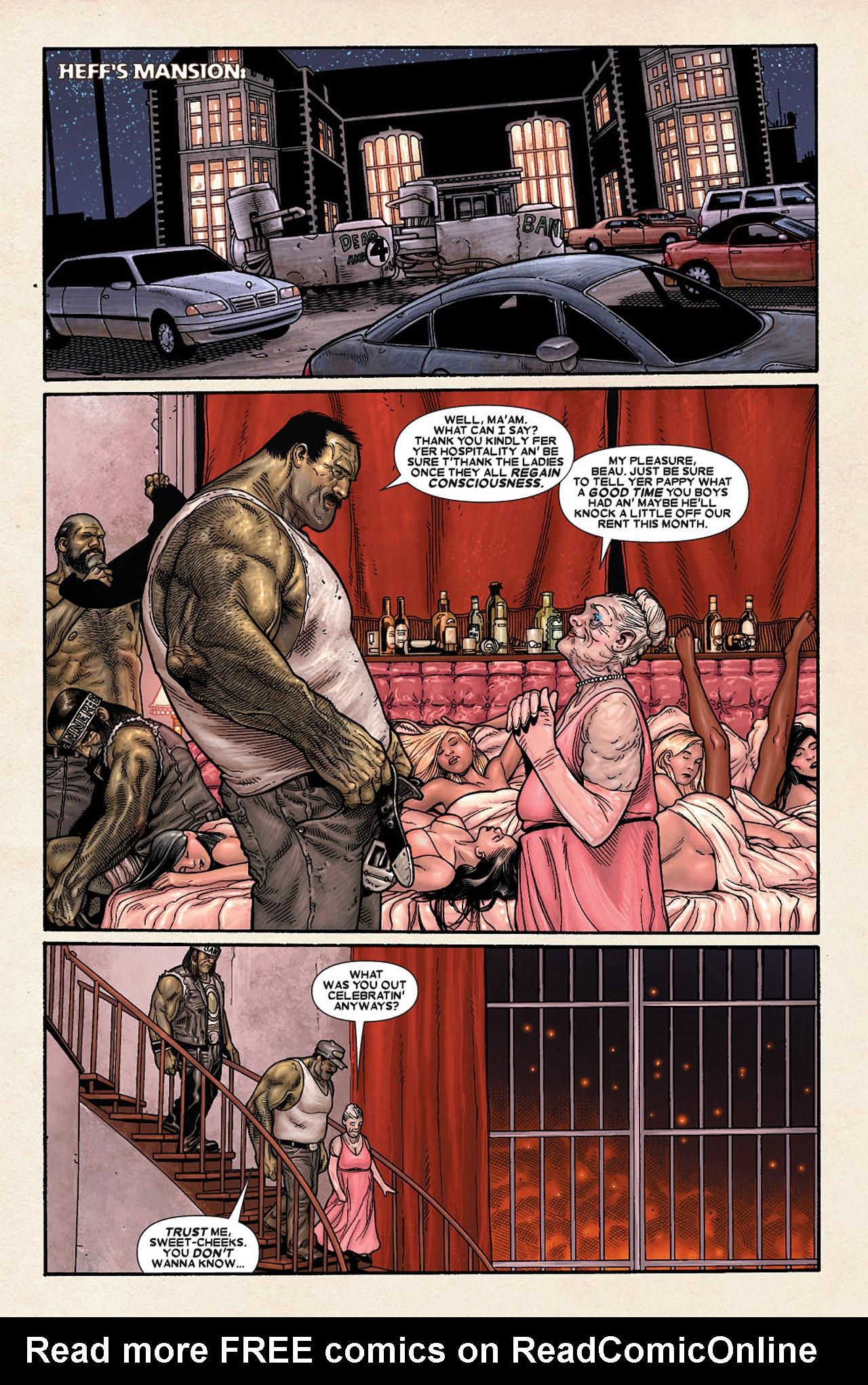 Read online Wolverine: Old Man Logan comic -  Issue # Full - 173