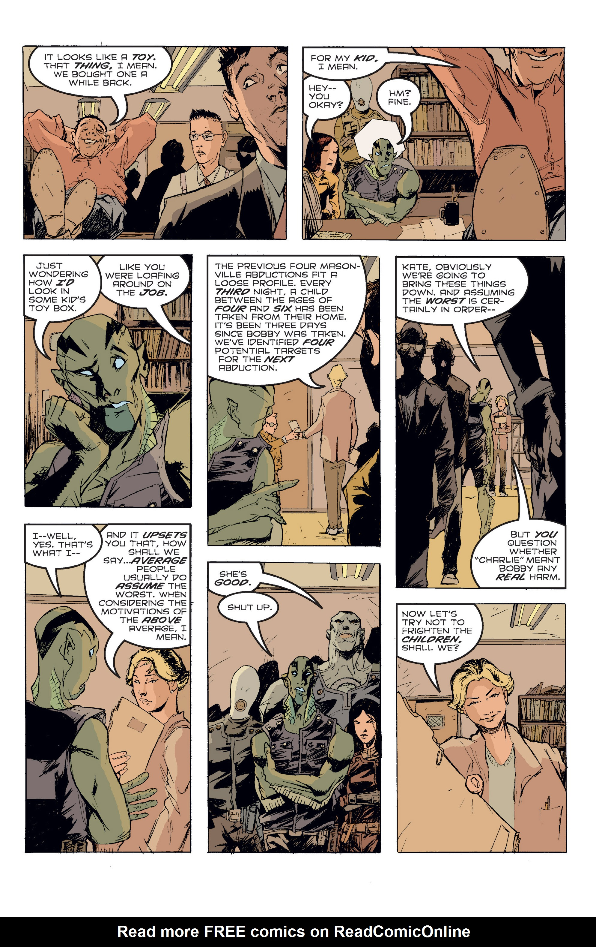 Read online B.P.R.D. (2003) comic -  Issue # TPB 2 - 88