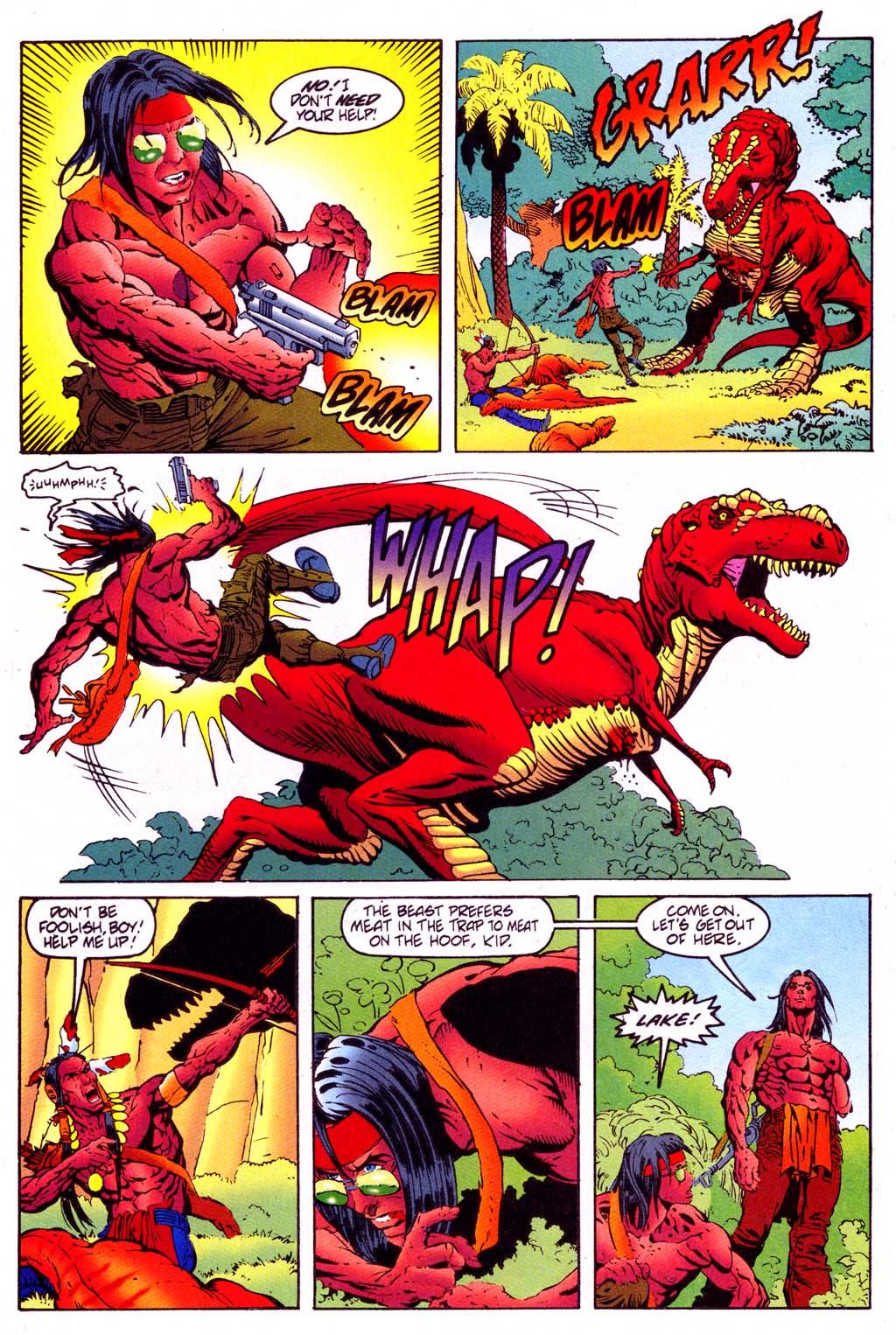 Read online Turok, Dinosaur Hunter (1993) comic -  Issue #47 - 17