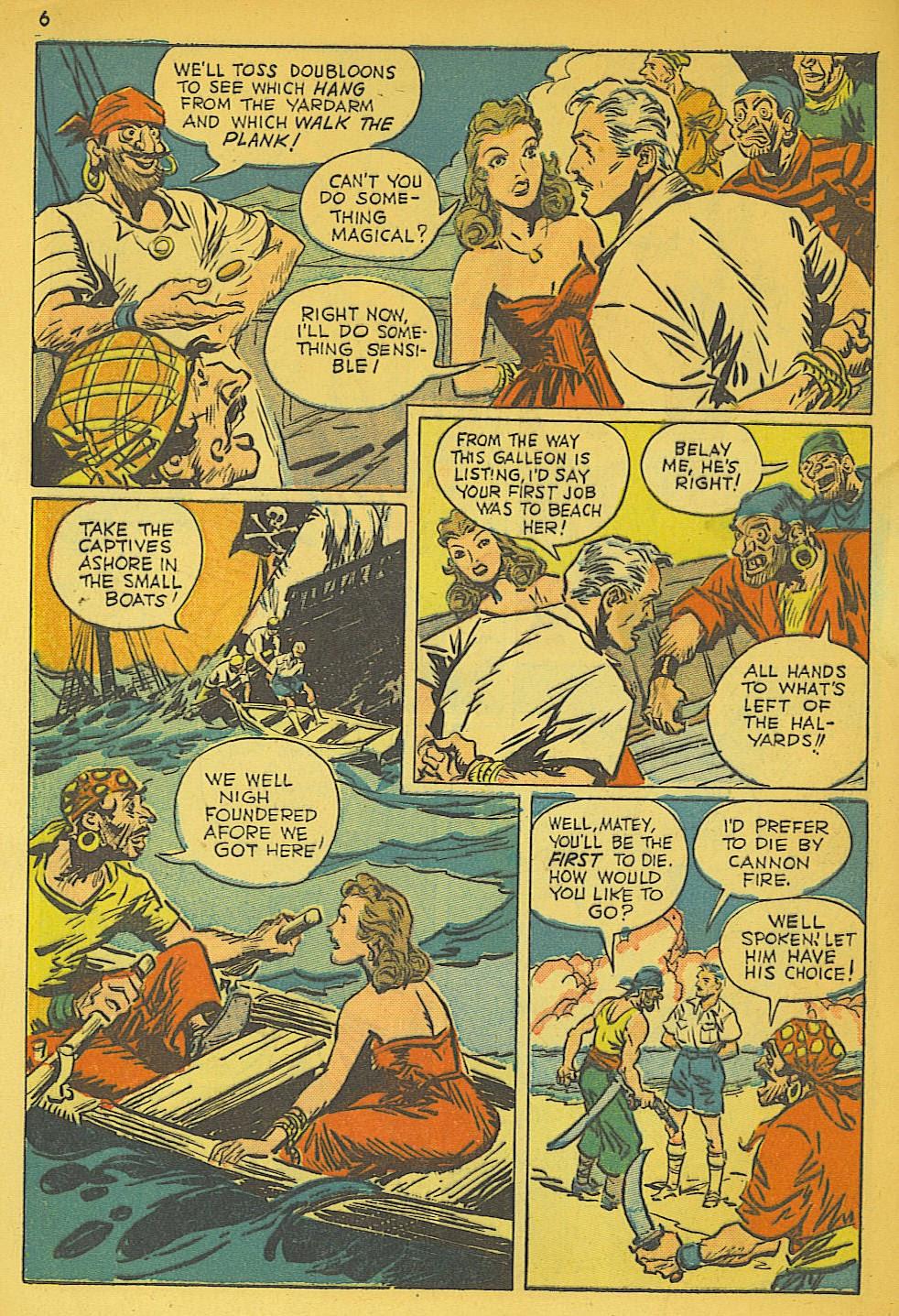 Read online Super-Magician Comics comic -  Issue #19 - 6