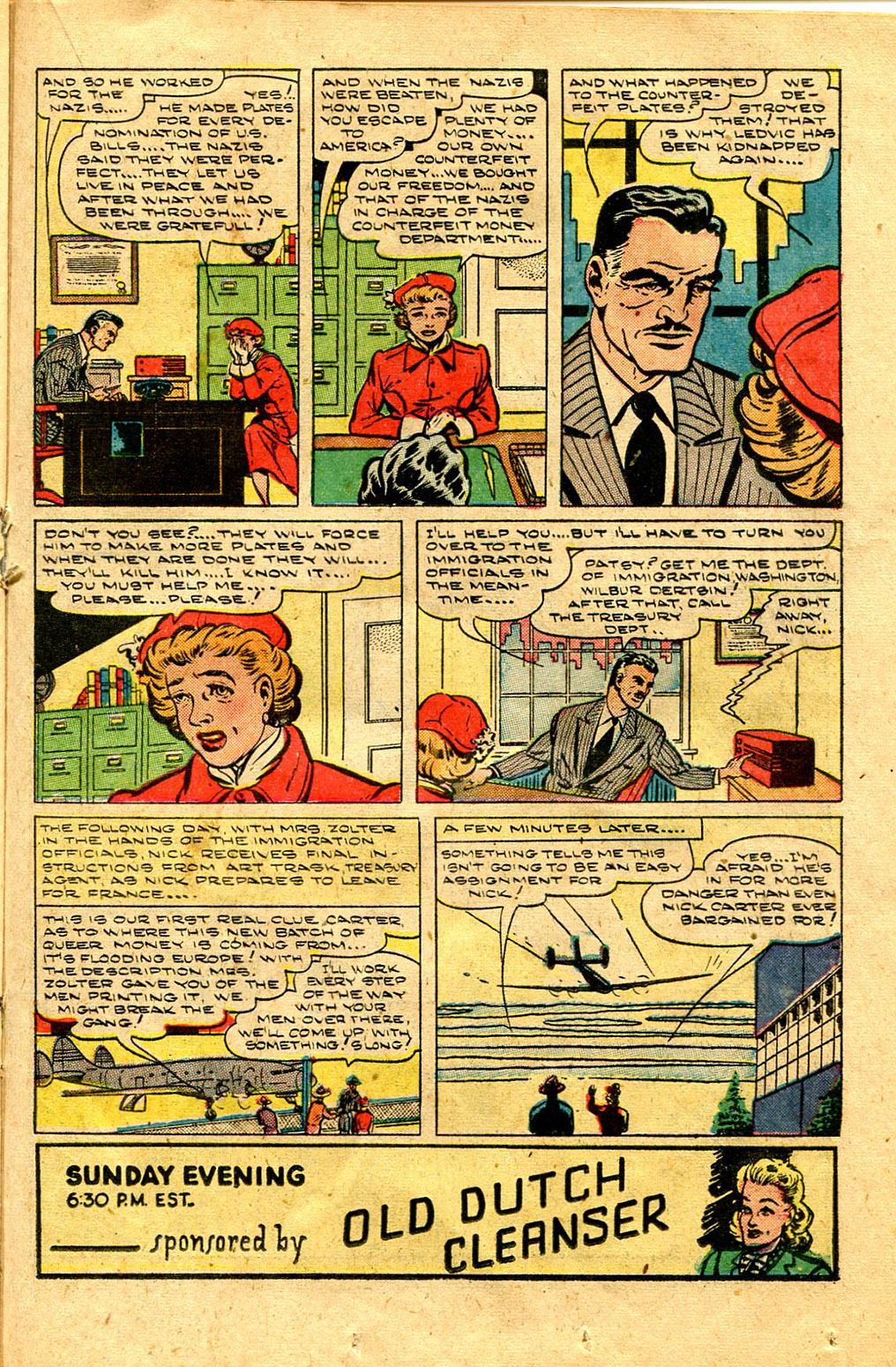 Read online Shadow Comics comic -  Issue #100 - 29