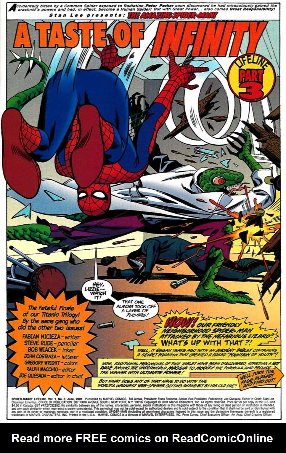 Read online Spider-Man: Lifeline comic -  Issue #3 - 2