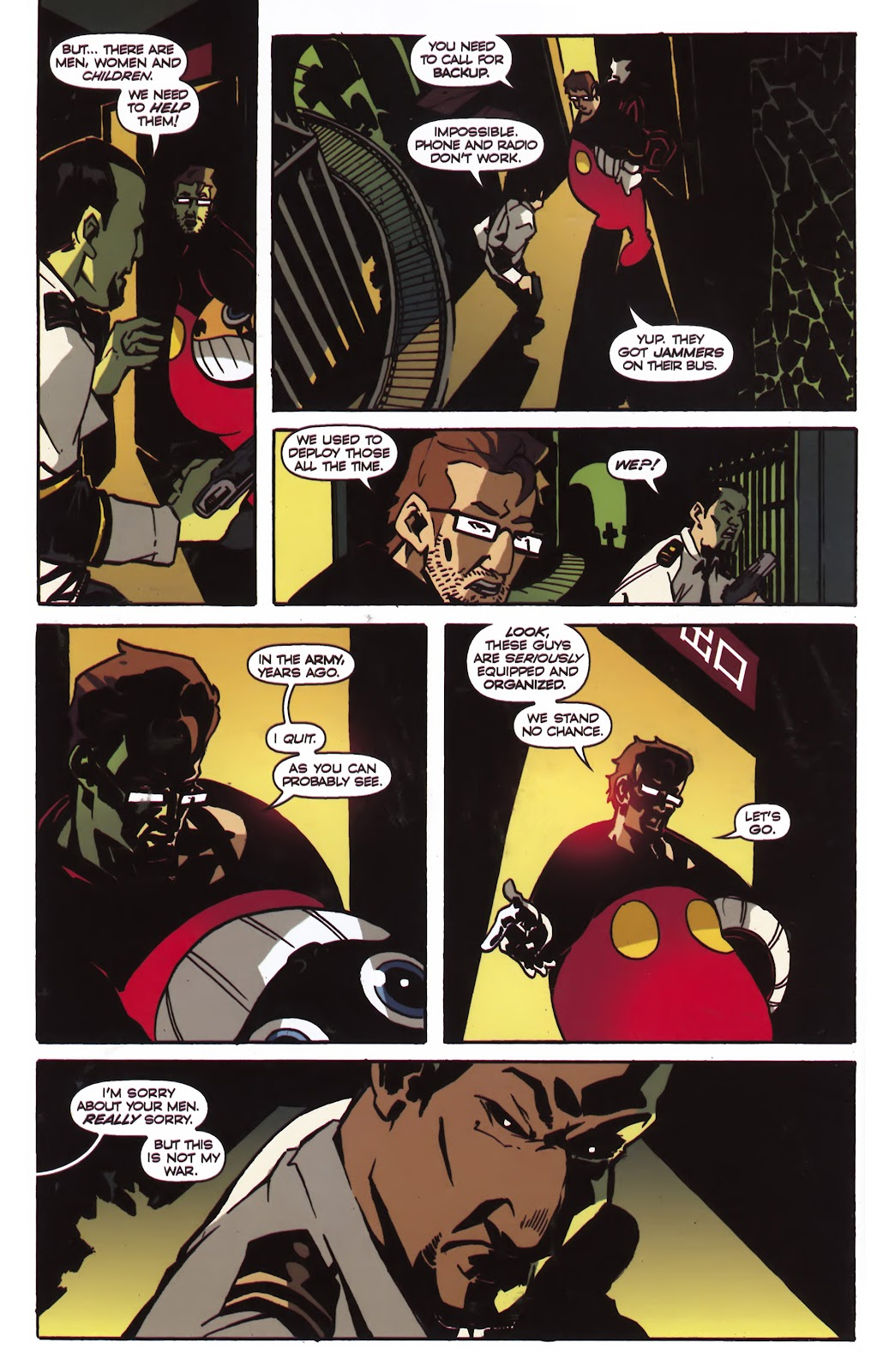 Read online Ricky Rouse Has A Gun comic -  Issue # TPB (Part 1) - 85