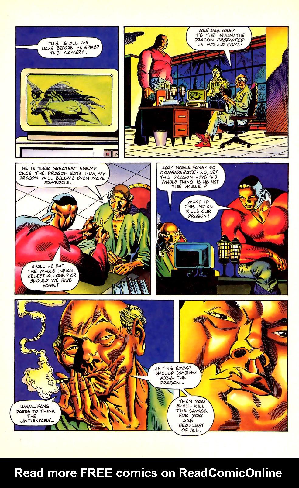 Read online Turok, Dinosaur Hunter (1993) comic -  Issue #11 - 22