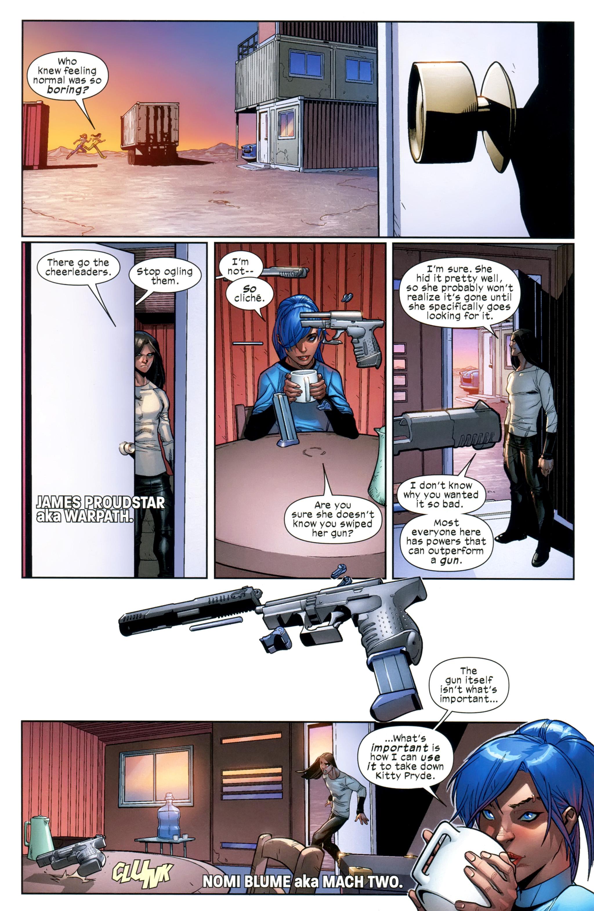 Read online Ultimate Comics X-Men comic -  Issue #20 - 6