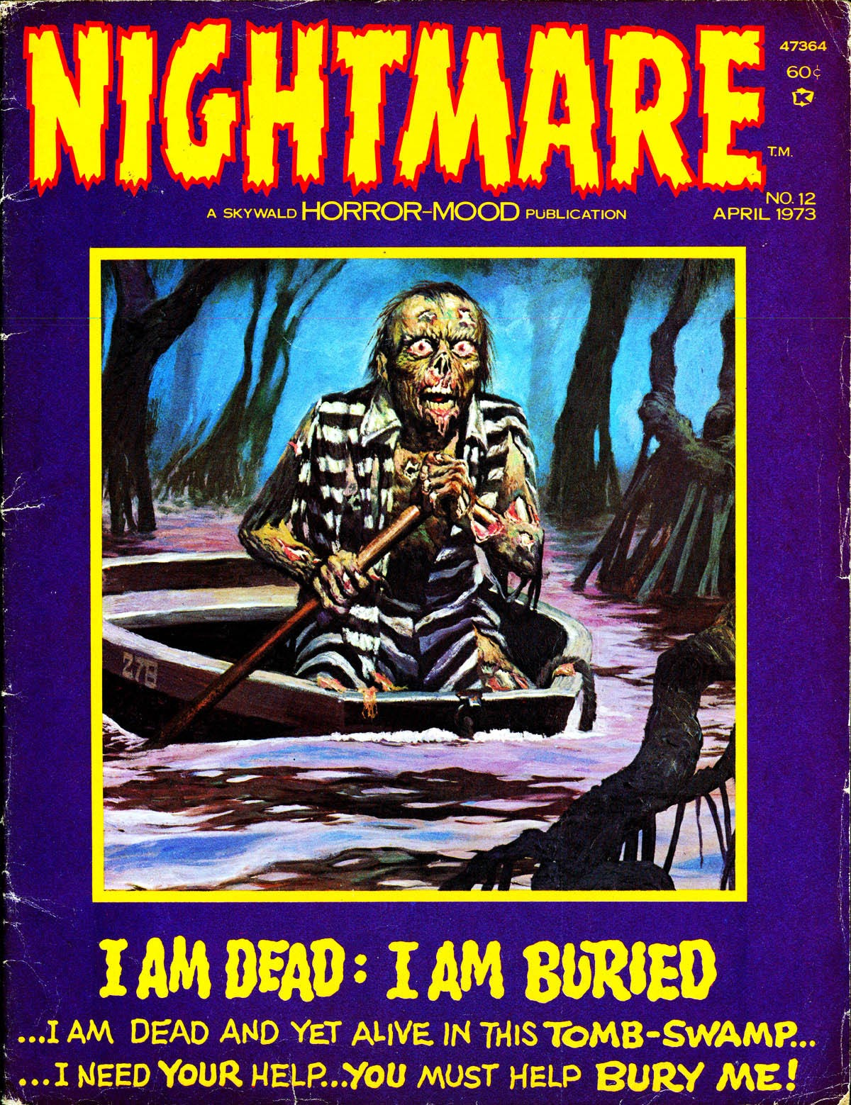Nightmare (1970) issue 12 - Page 1