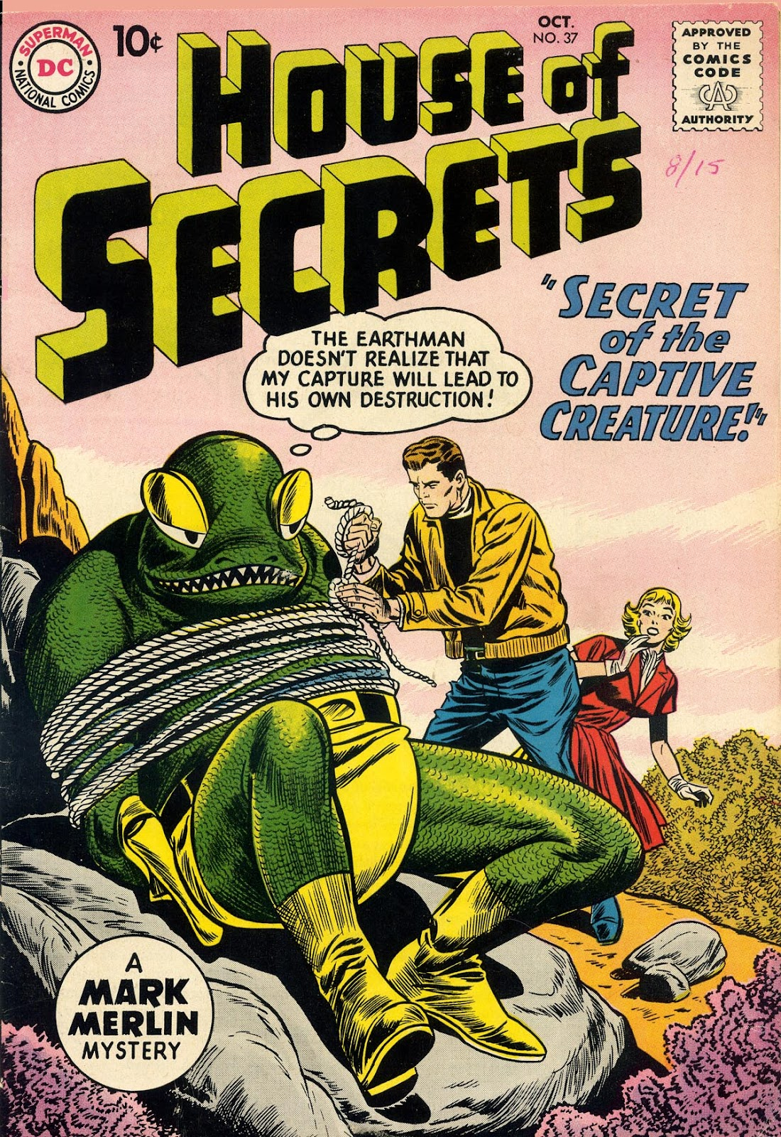 House of Secrets (1956) issue 37 - Page 1
